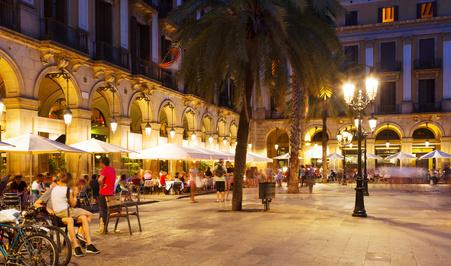 Cafe iberische Halbinseln