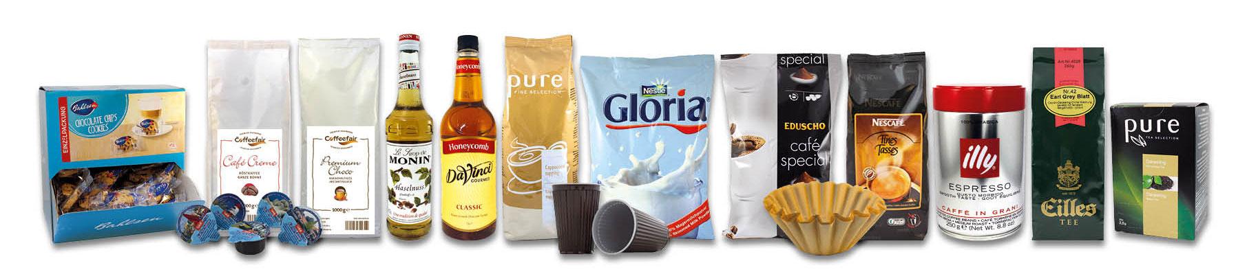 Coffeefair Produkte