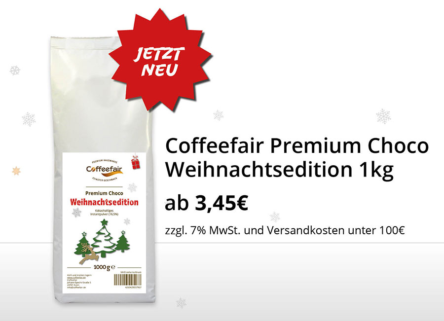 Coffeefair Kakao Weihnachtsmarkt