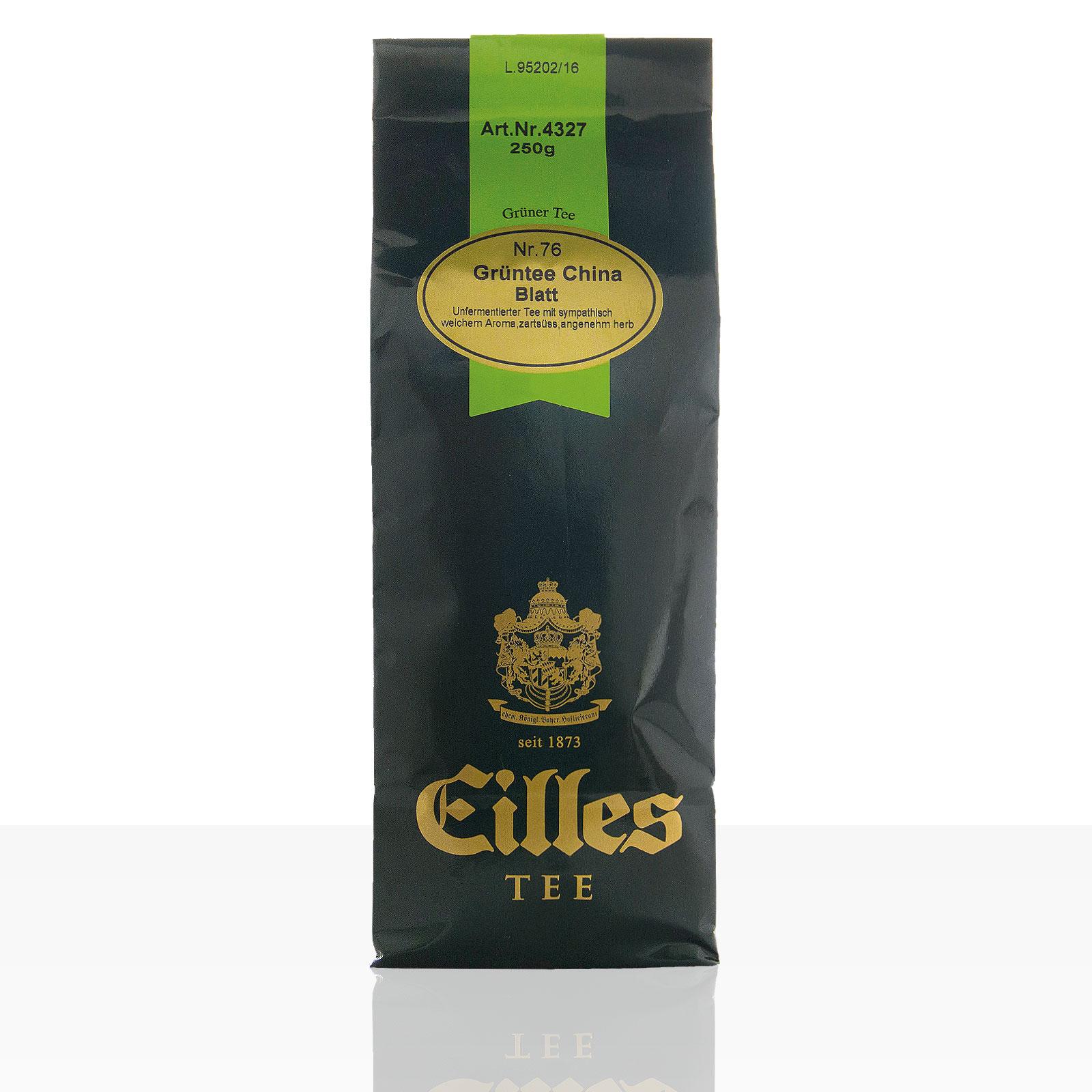 EILLES Tee China Grüntee Blatt Nr. 76, 250g loser Tee
