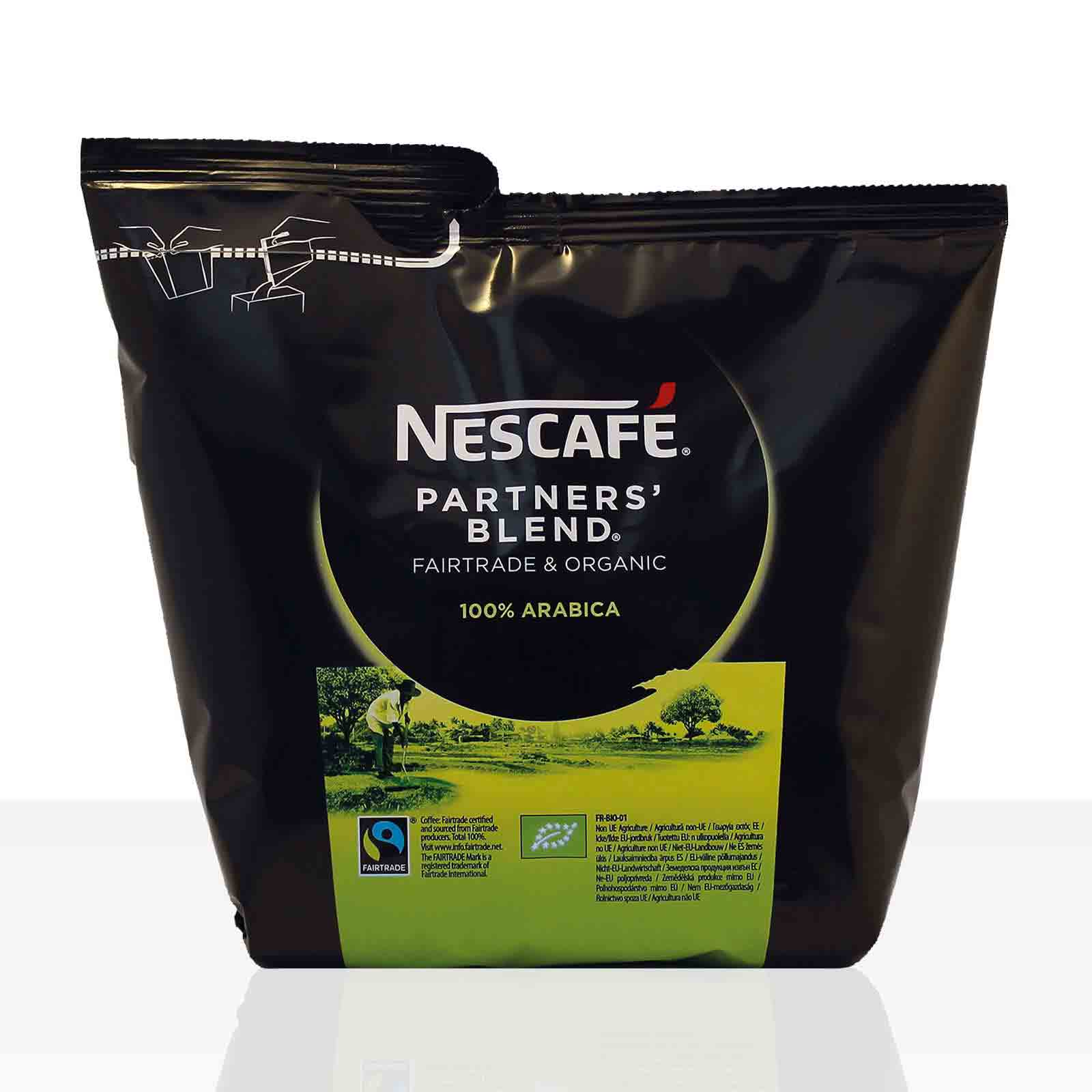 Nestle Nescafe Partners Blend - 250g Fairtrade Instant-Kaffee ( ehemals Santa Rica )
