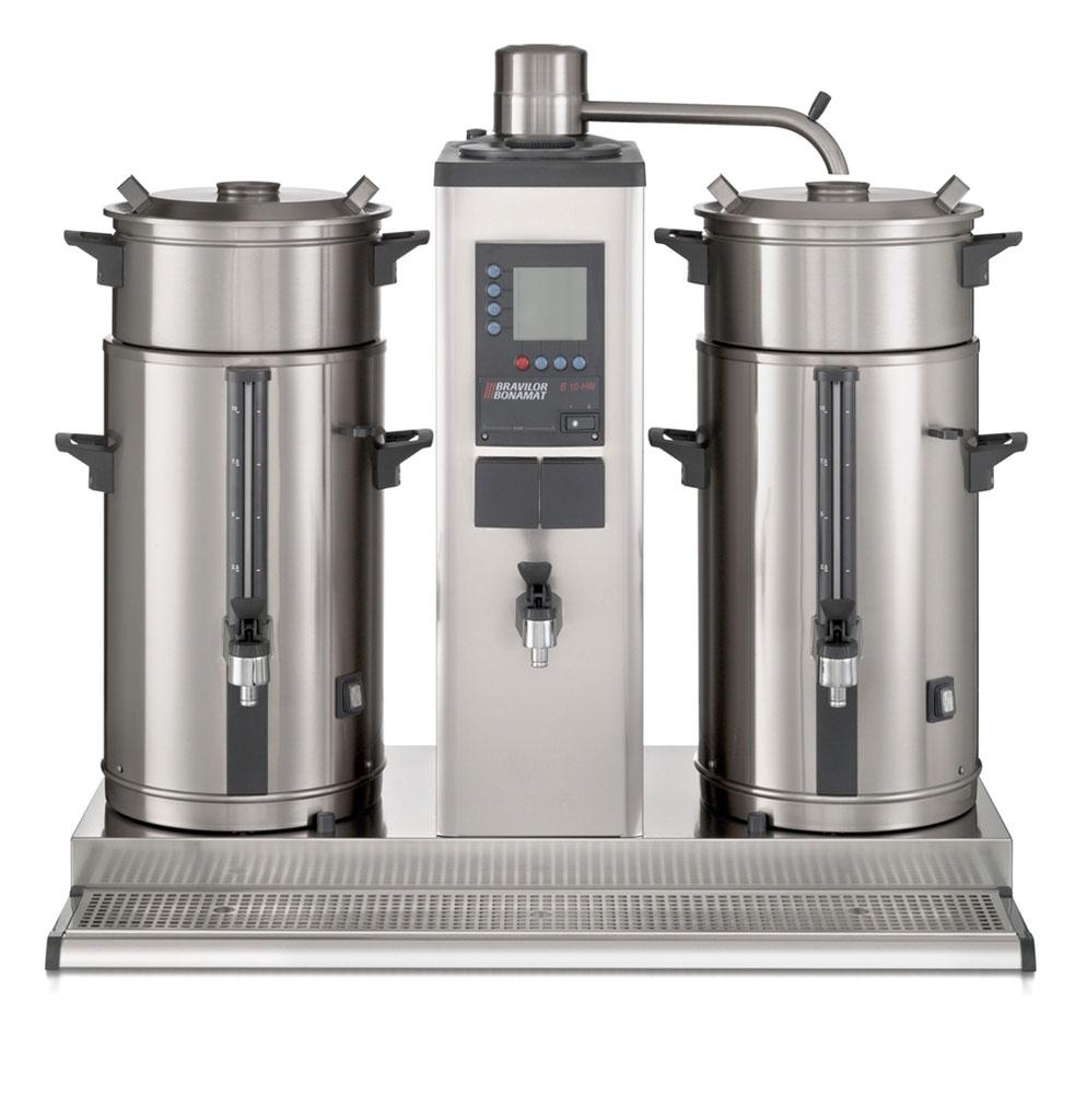 Bonamat Rundfilter Kaffeemaschine B10 HW, 1 Brühsystem 2 Behälter a 10l 400V