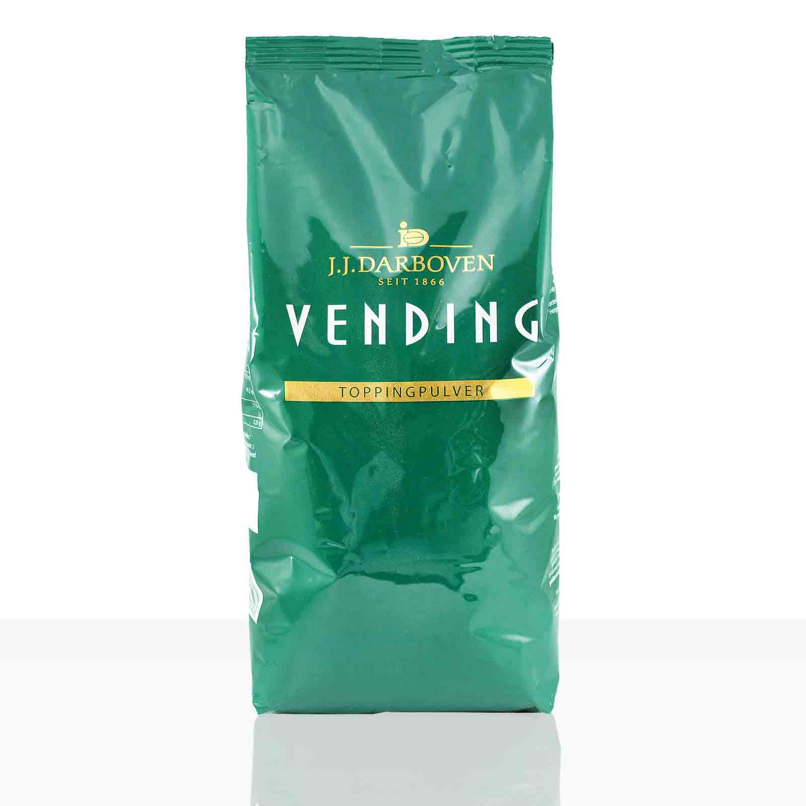 Darboven Vending Toppingpulver 10 x 1kg, Milchpulver Topping