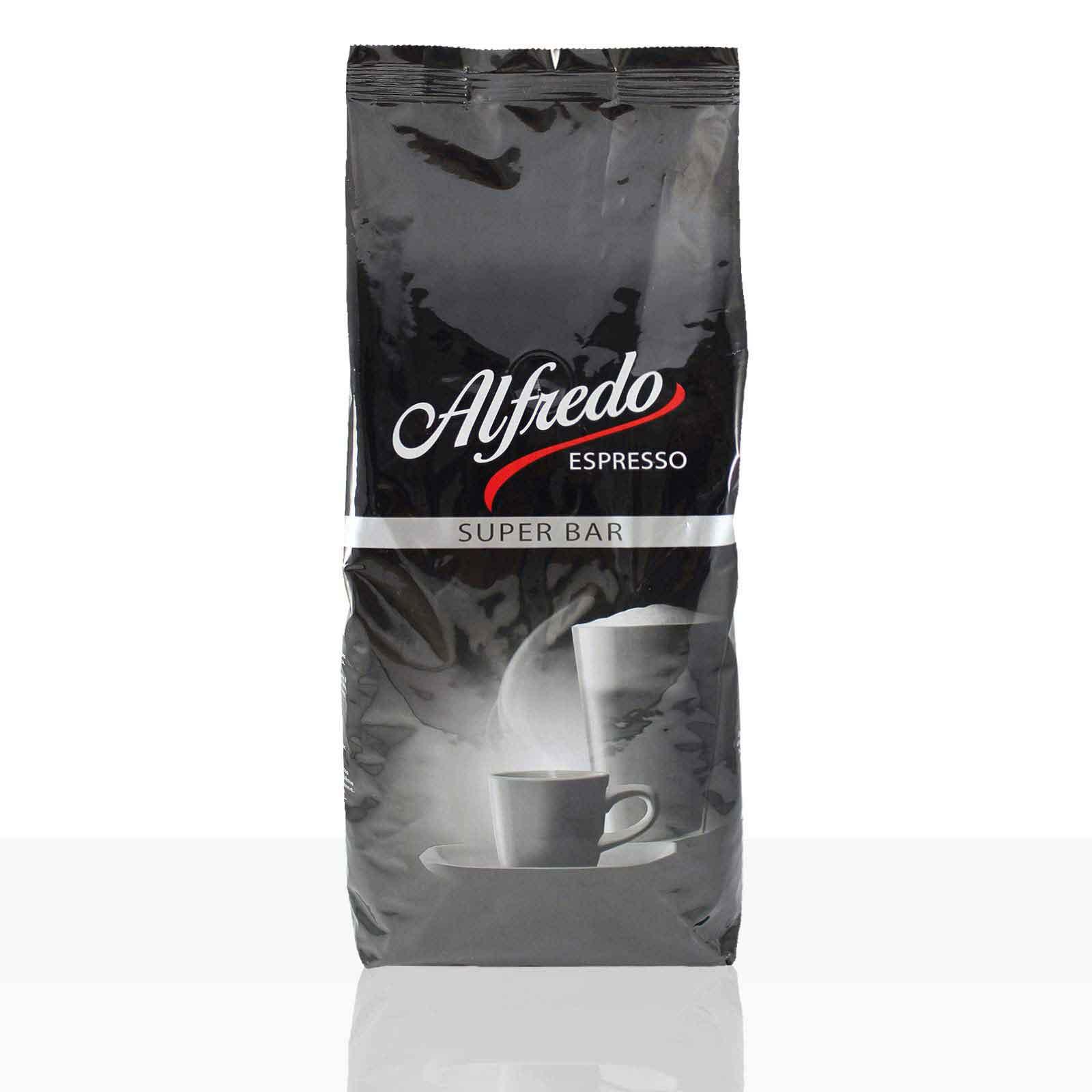 Darboven Alfredo Espresso Super Bar - 6 x 1kg Kaffee-Bohnen