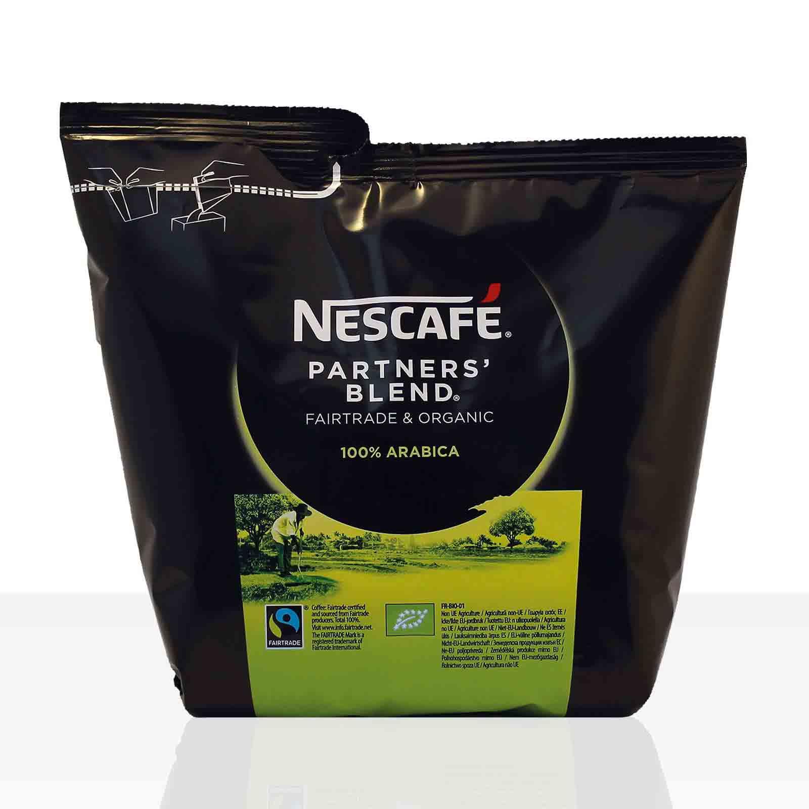 Nestle Nescafe Partners Blend - 12 x 250g Fairtrade Instant-Kaffee ( ehemals Santa Rica )