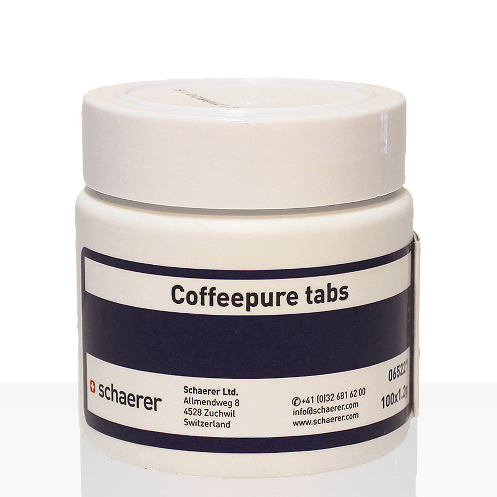 schaerer coffeepure tabs reinigungs tabletten 100 x 1 2g. Black Bedroom Furniture Sets. Home Design Ideas