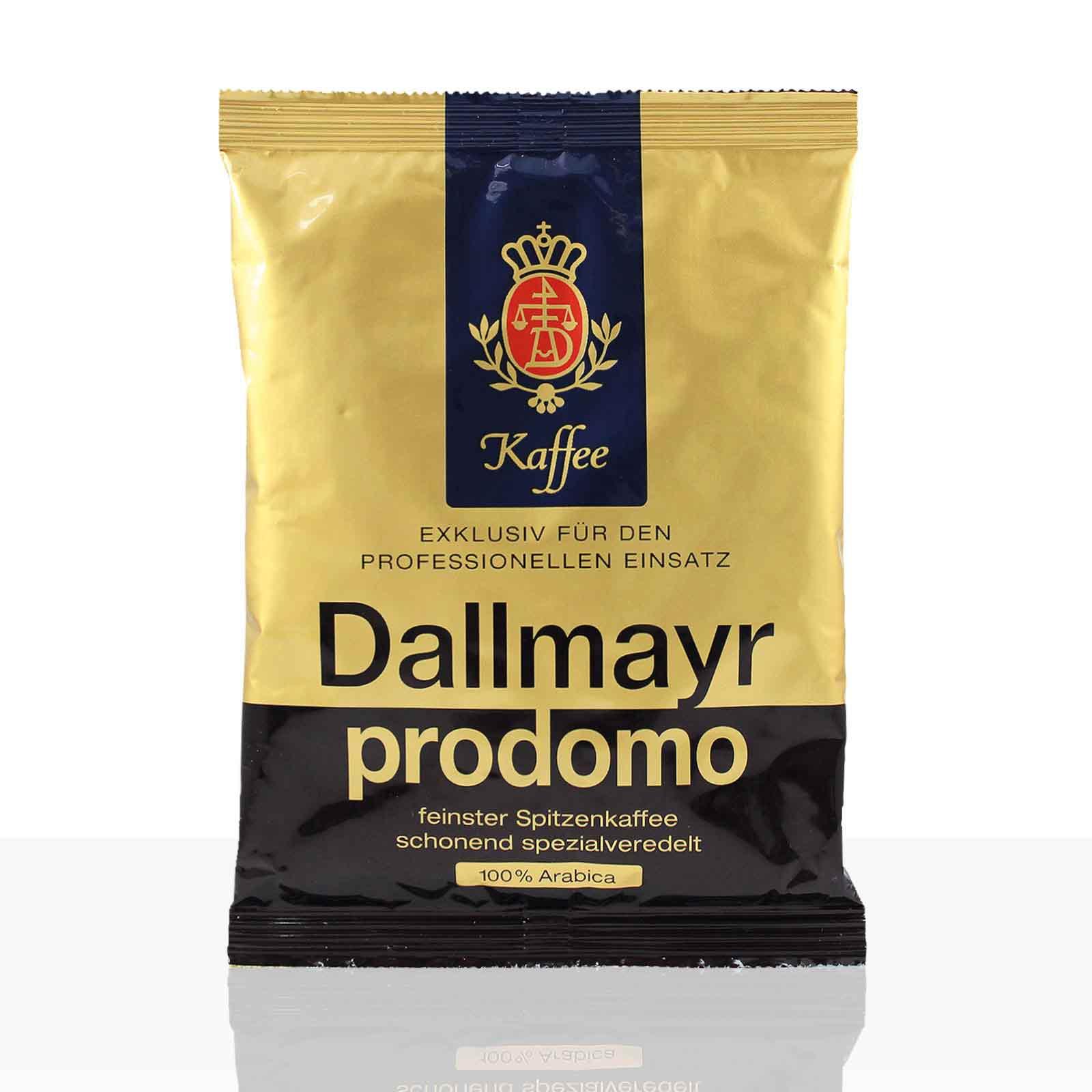Dallmayr Prodomo - 50 x 60g Kaffee gemahlen, Filterkaffee 100% Arabica