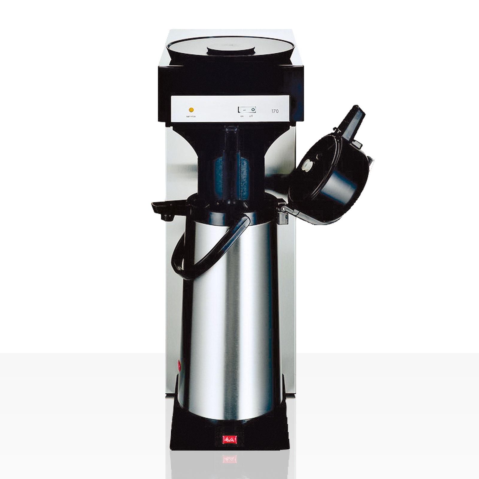 Melitta M 170 MT Gastro Filter-Kaffeemaschine inkl. Kanne (Glaskolben) 2,2l