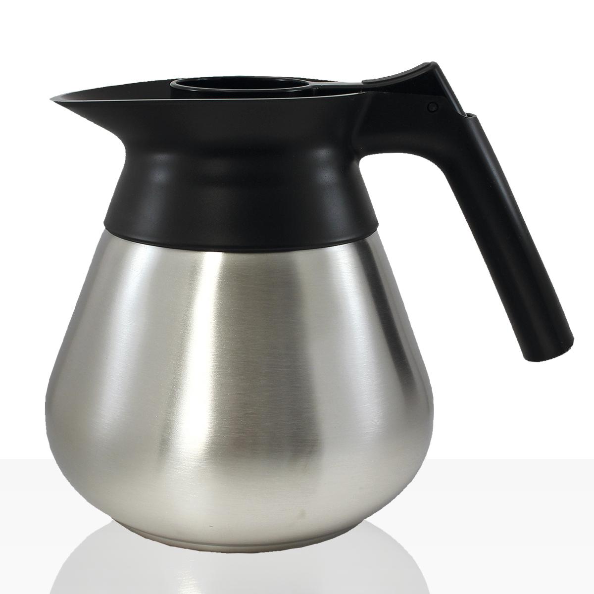 Bonamat Edelstahlkanne 1,7l Kaffee-Kanne für zb Mondo, Matic