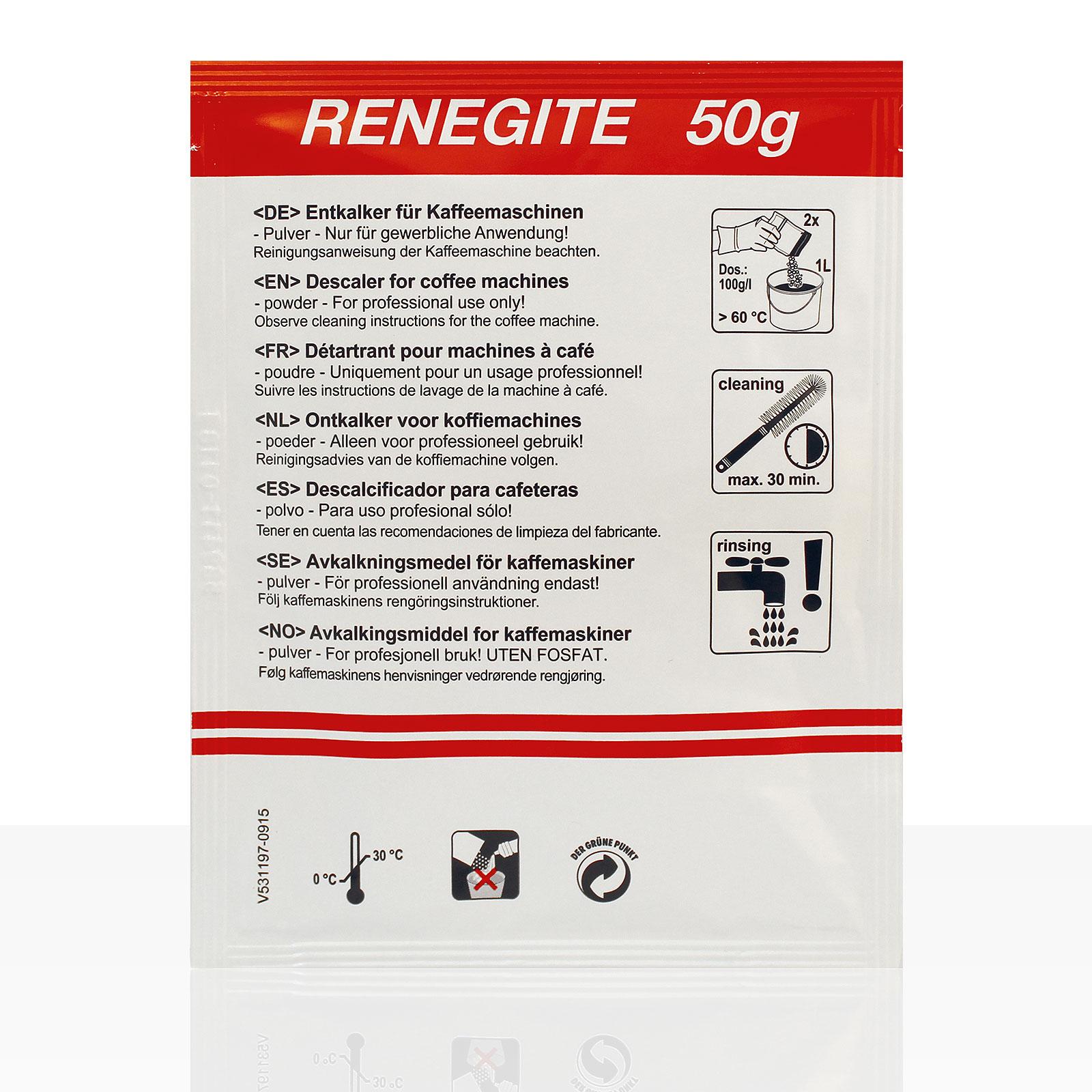 Bonamat Renegite Entkalker-Pulver 60 x 50g Portionsbeutel