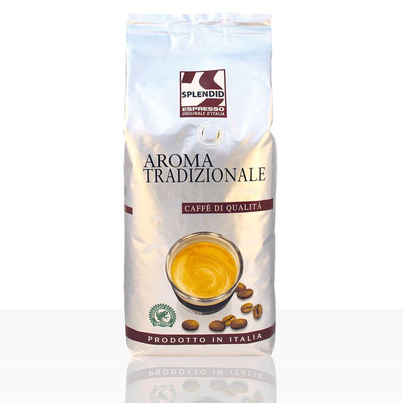 Splendid Espresso Aroma Tradizionale - 1kg ganze Kaffee-Bohne