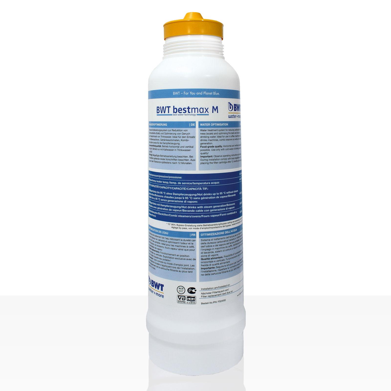 Bestmax M Filterkerze, BWT water + more Wasserfilter ca. 3800 L
