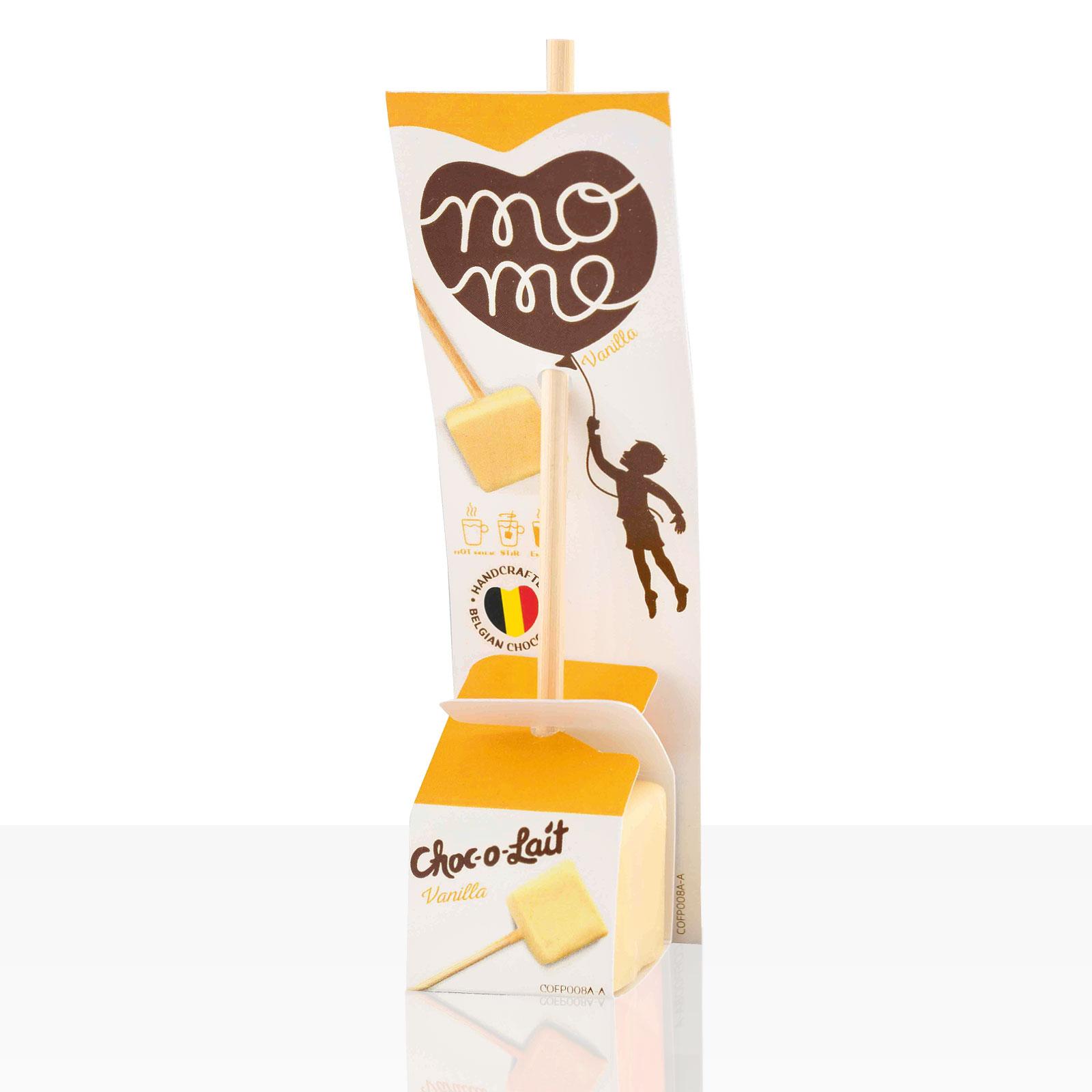 Choc-o-lait Trinkschokolade am Stiel Vanilla im Displaykarton 24Stk