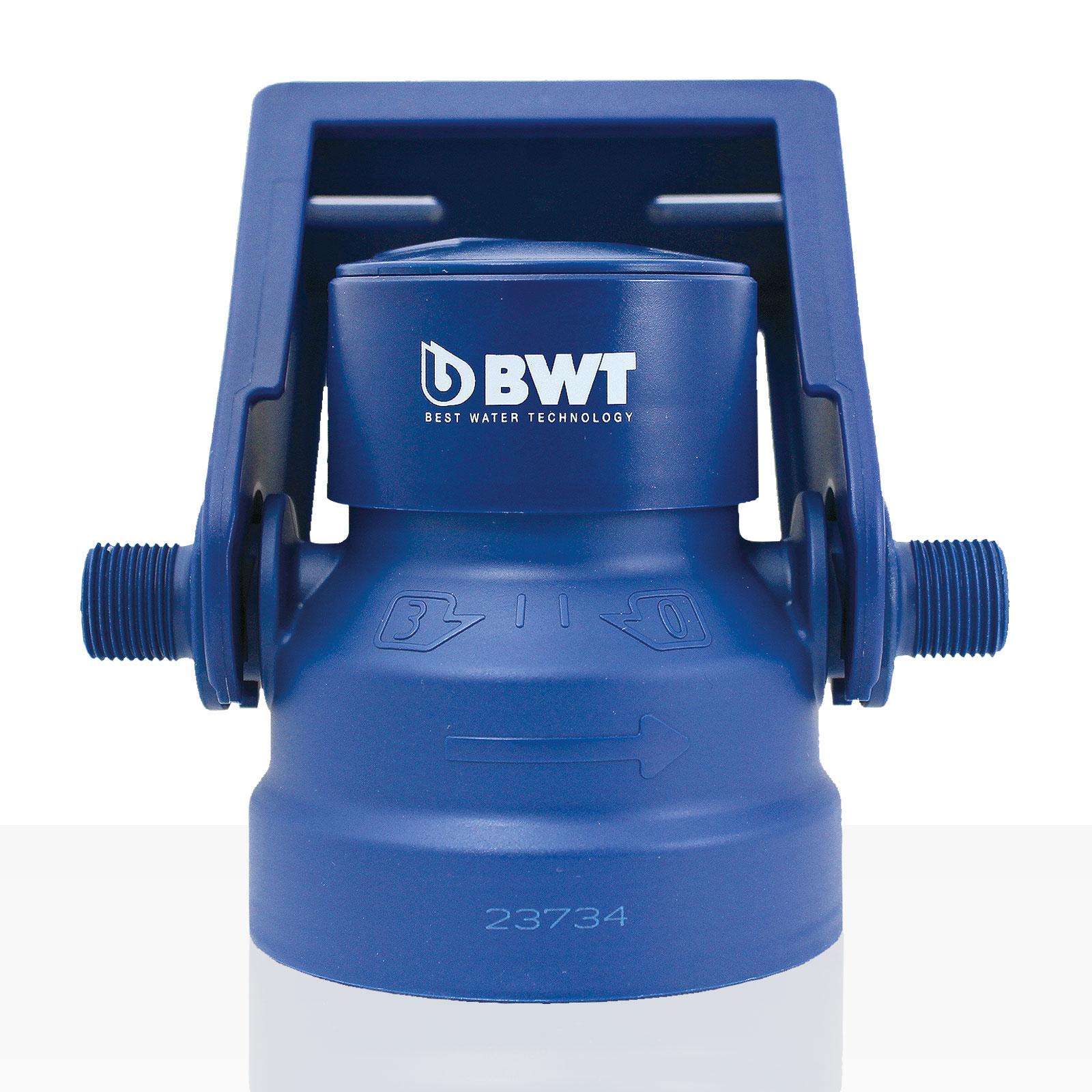 BWT Besthead Filterkopf water + more, Universalfilterkopf für alle BWT Filterkerzen, 3/8