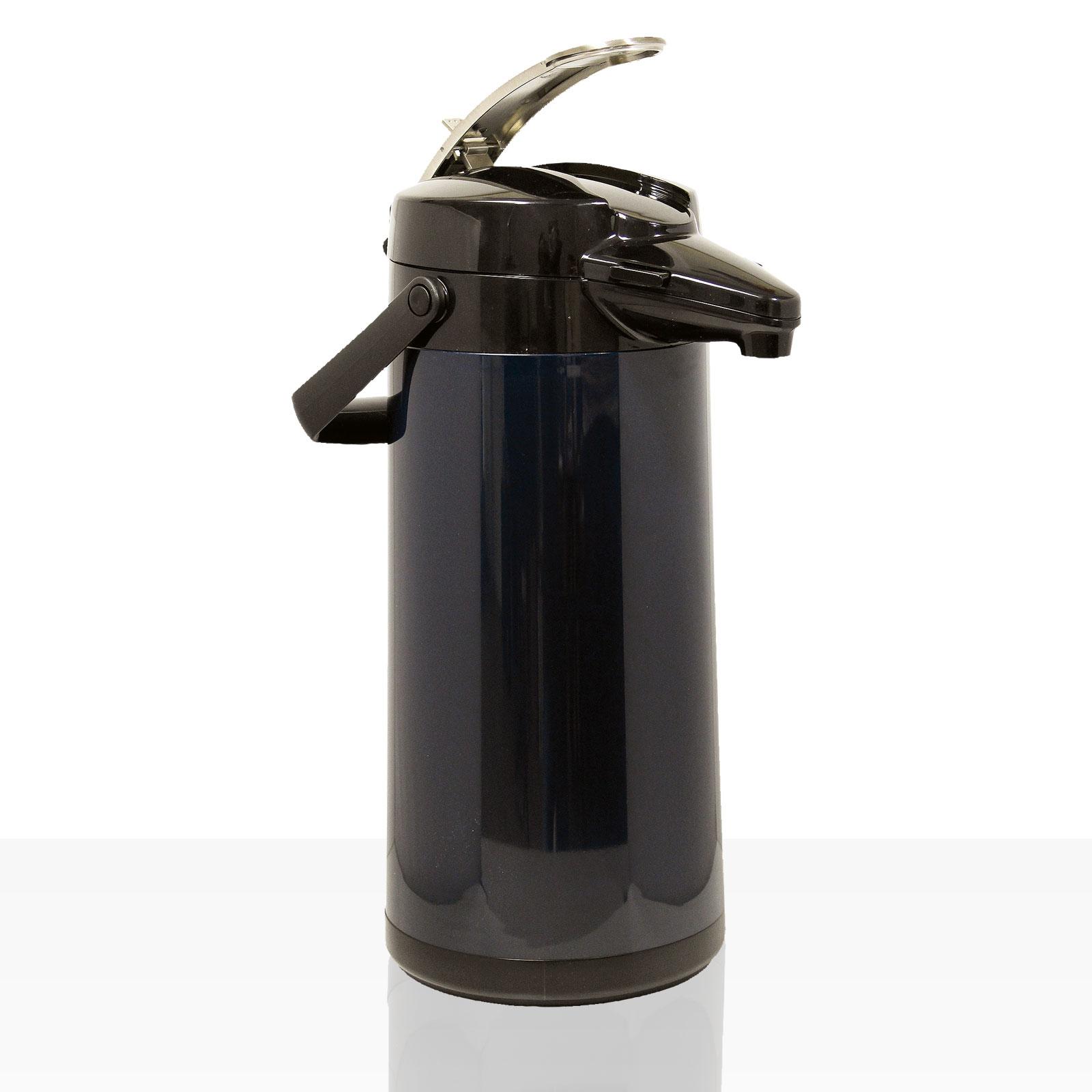 Bonamat Airpot Furento Pumpkanne 2,2l für TH - Glaseinsatz Matt Schwarz