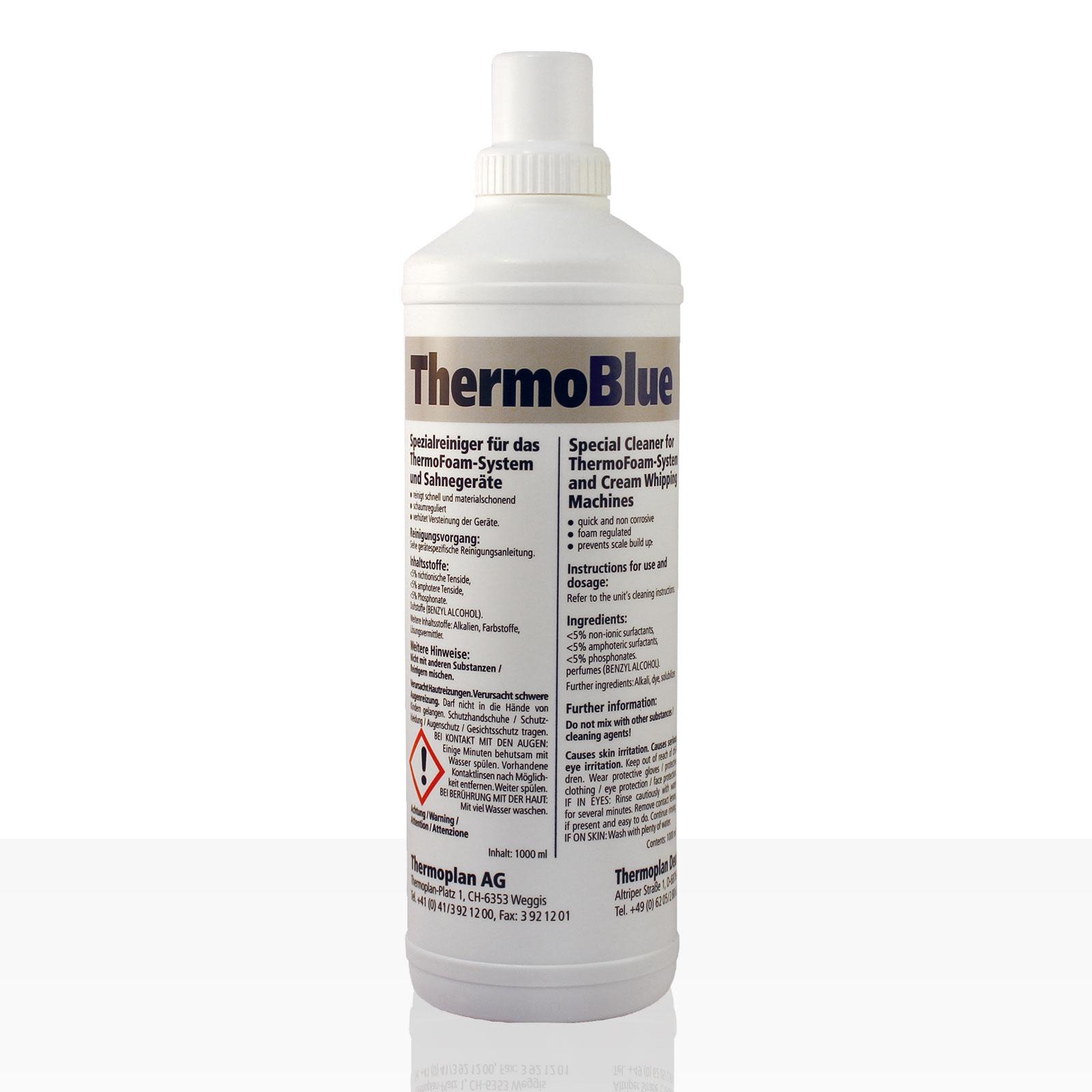 ThermoBlue Spezialreiniger für ThermoFoam-Systeme 1000ml