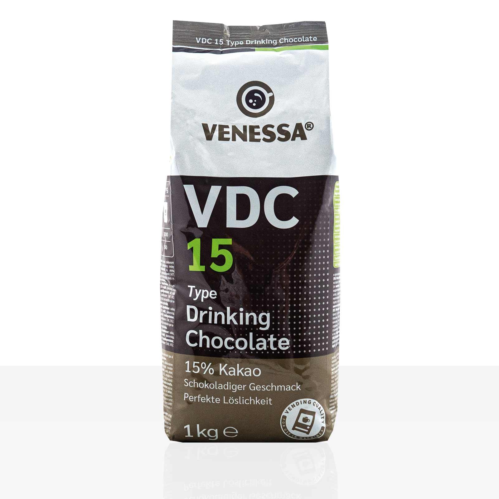 Venessa VDC 15 Kakao 1kg, Kakaopulver 15%