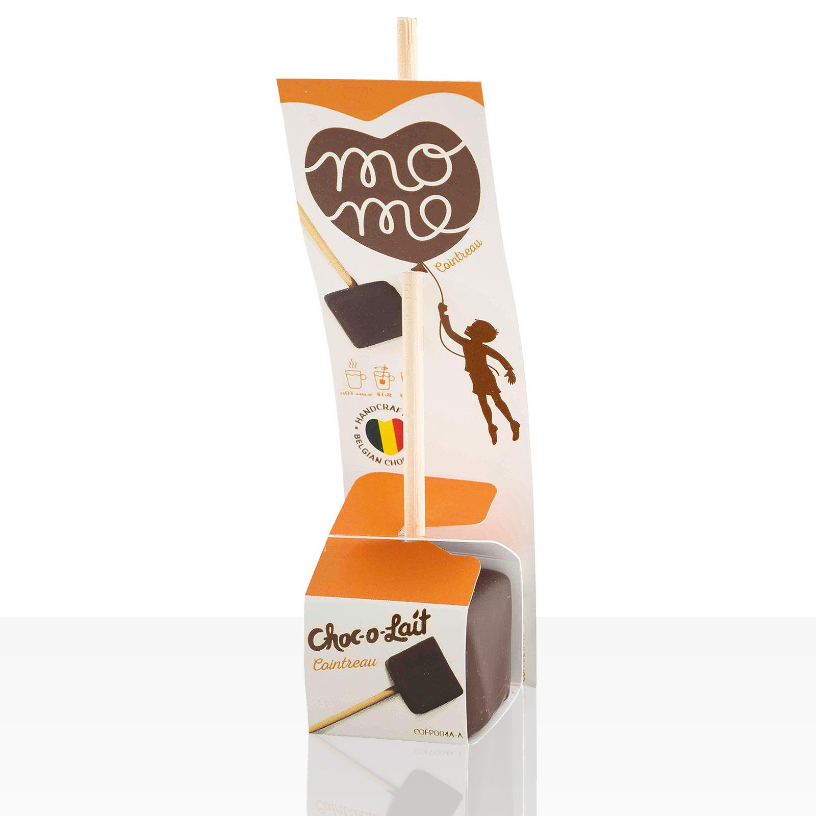 Choc-o-lait Trinkschokolade am Stiel Cointreau 1Stk