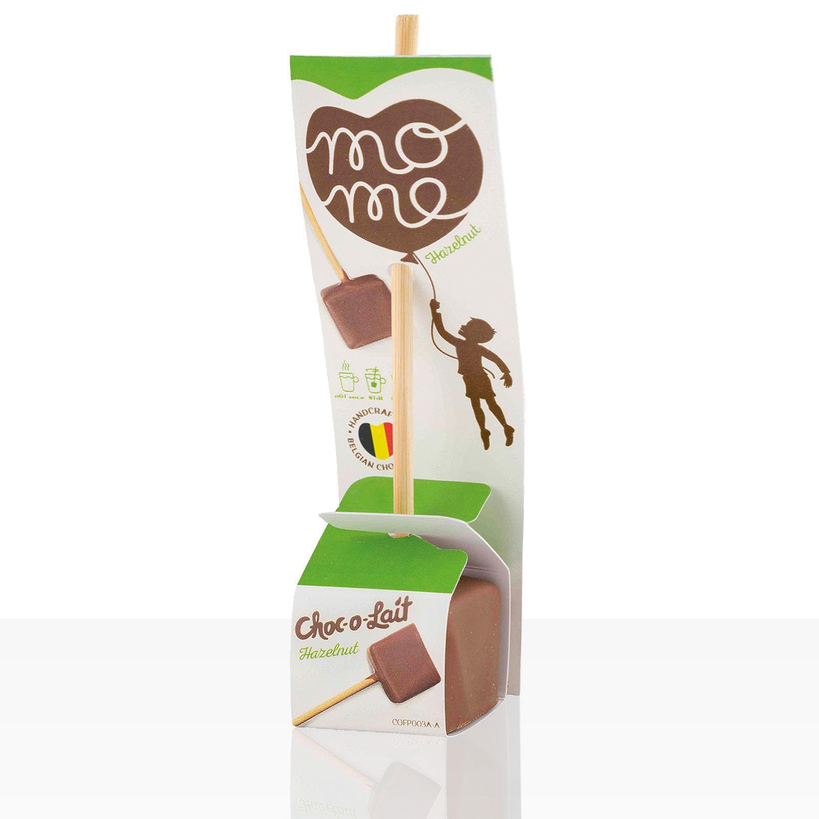 Choc-o-lait Trinkschokolade am Stiel Haselnuss 1Stk