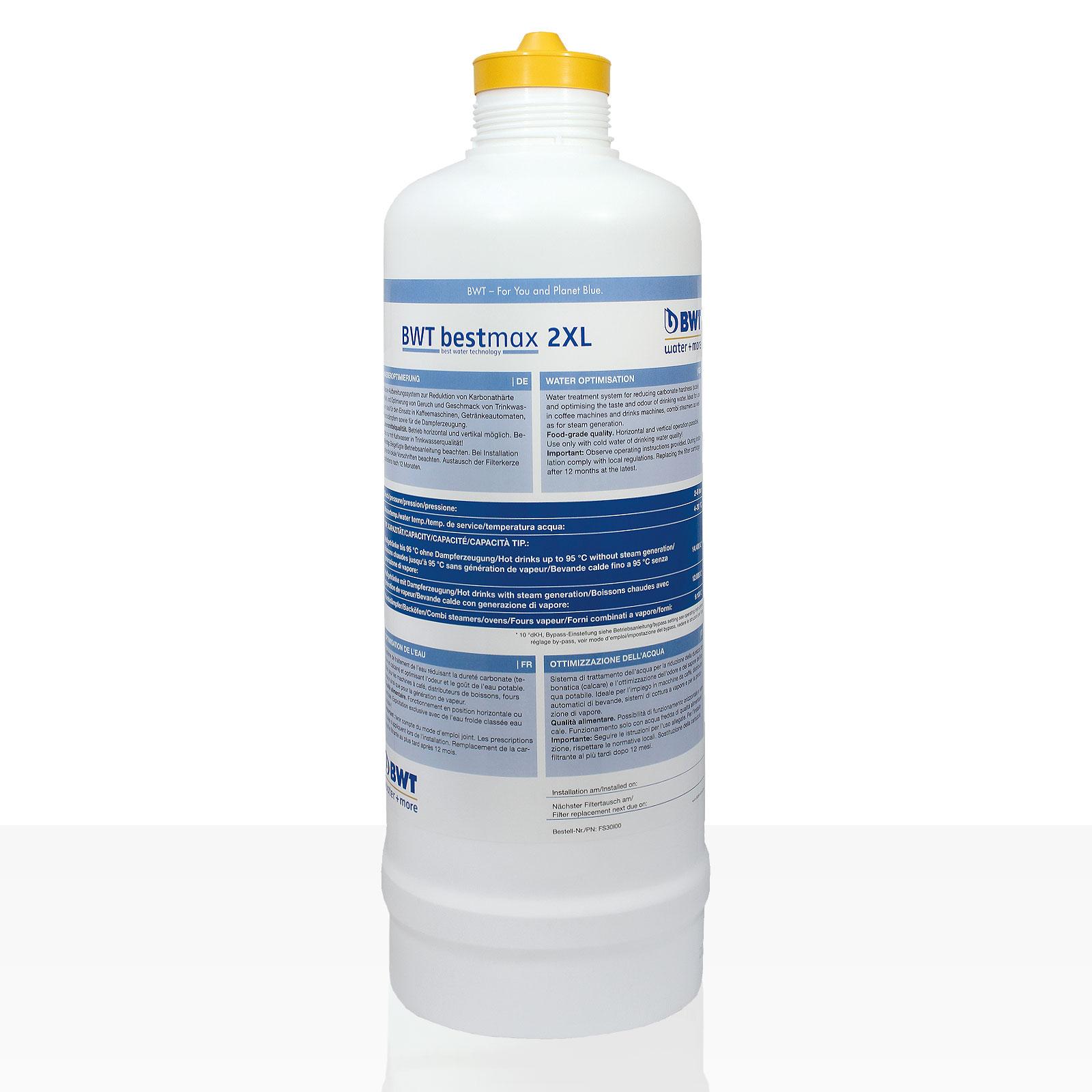 Bestmax 2XL Filterkerze, BWT water + more Wasserfilter ca. 12000 L
