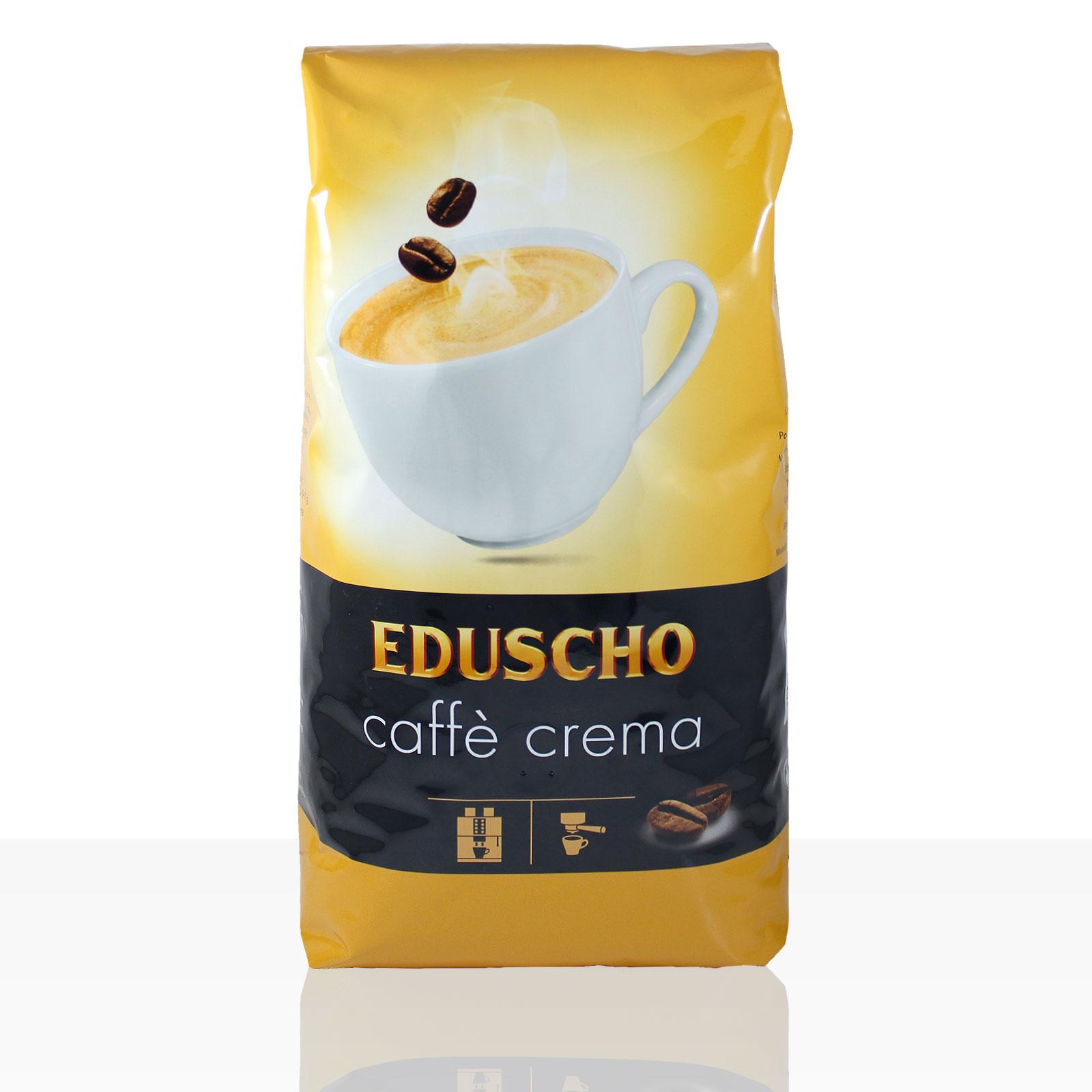 Eduscho Caffe Crema - 1kg Kaffee ganze Bohne