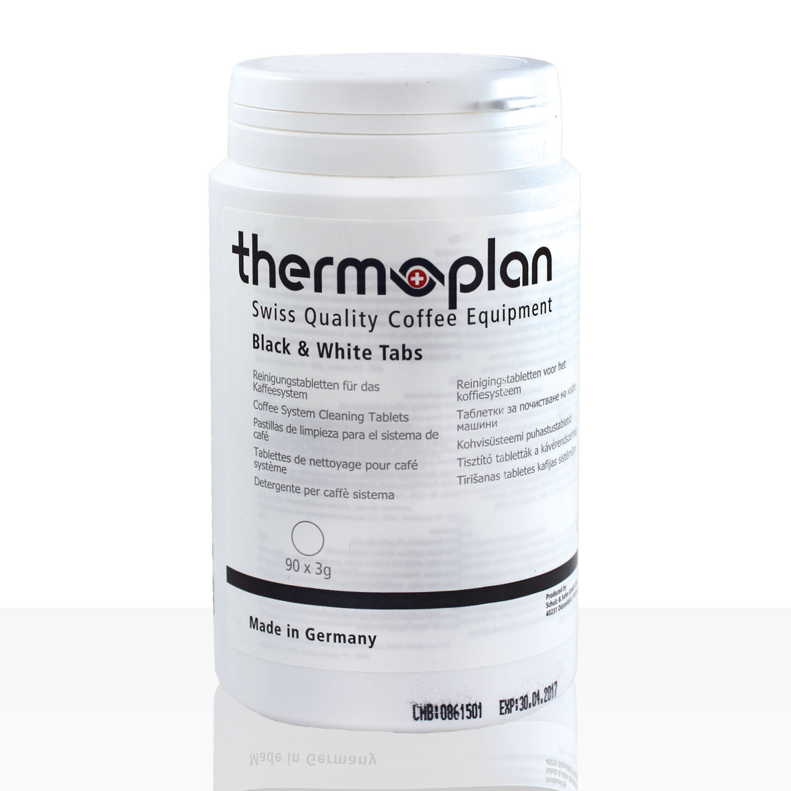 Thermoplan Black & White Tabs Reinigungs-Tabletten 90 x 3g
