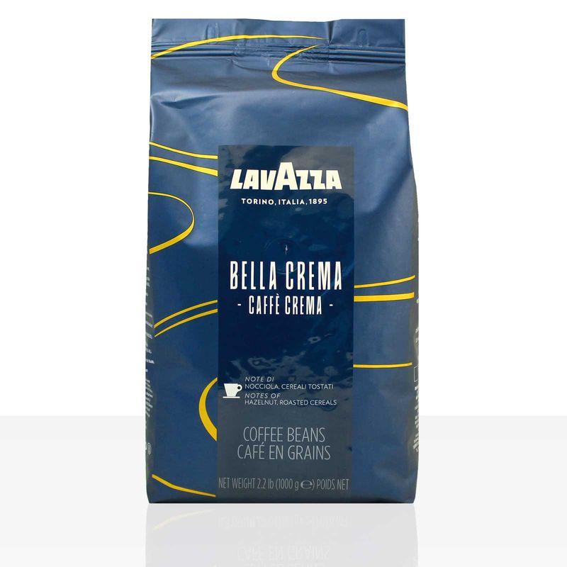 Lavazza Bella Crema Caffe Crema - 1kg ganze Kaffee-Bohne, 100% Arabica