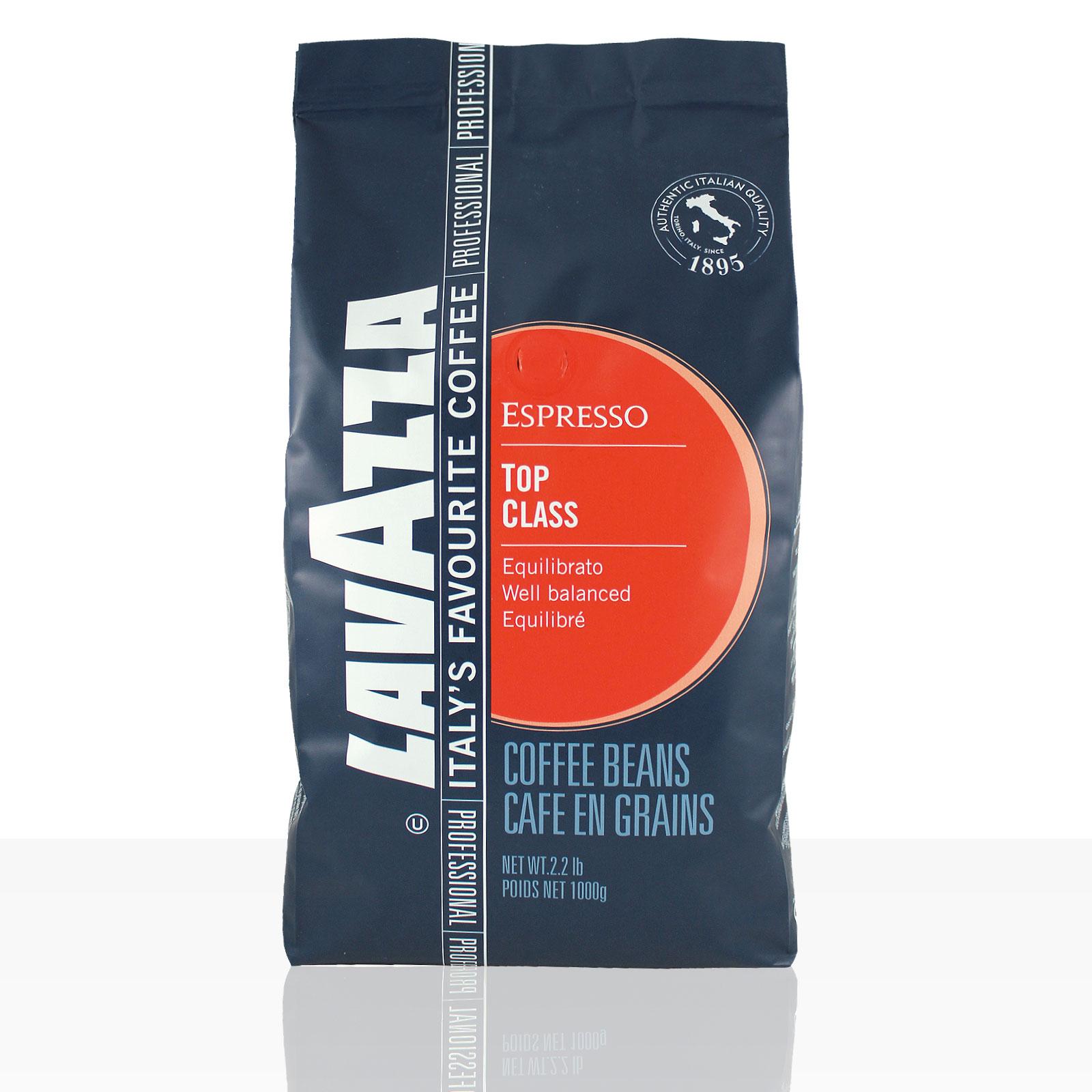Lavazza Espresso Top Class - 6 x 1kg ganze Kaffee-Bohne
