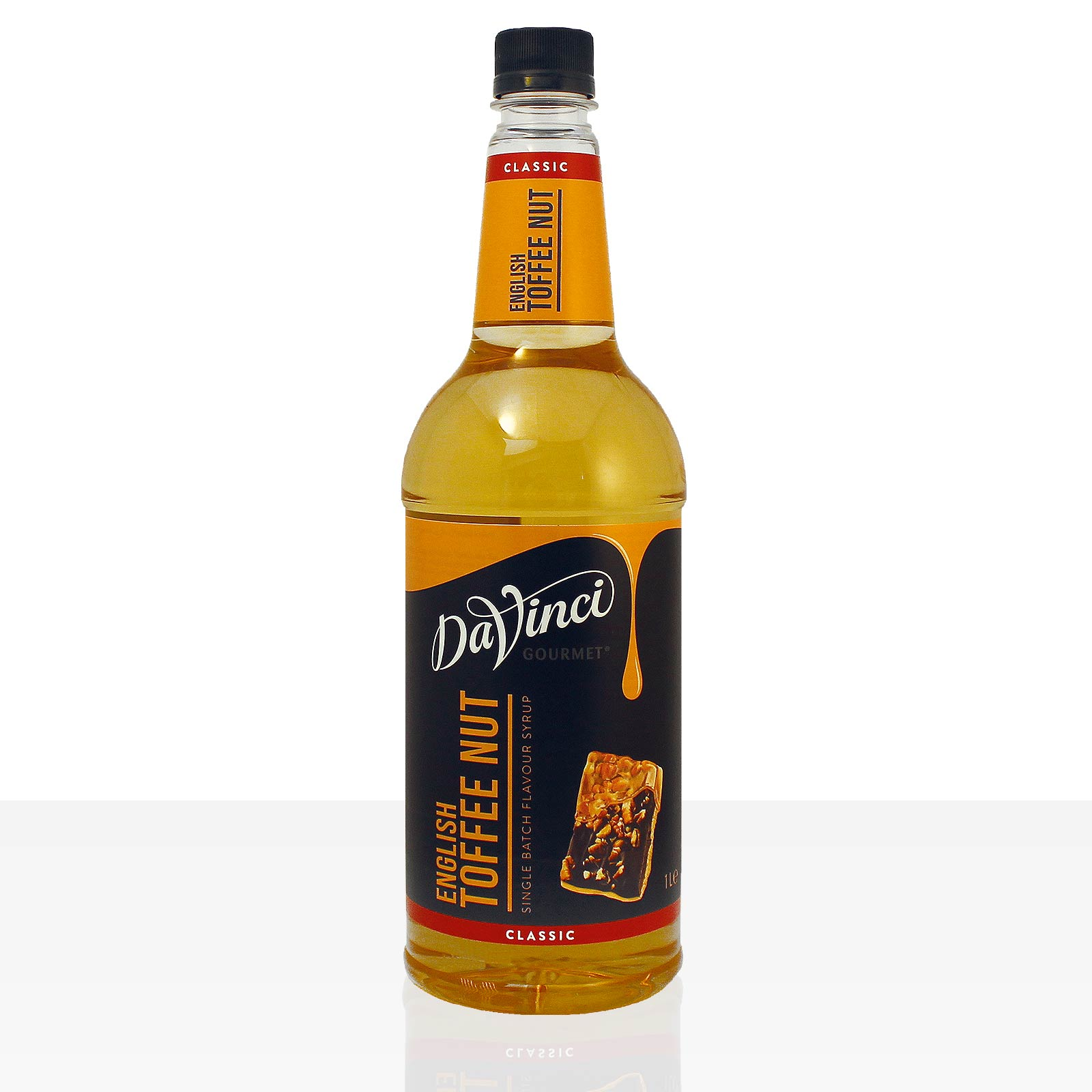 Da Vinci Gourmet Flavour Sirup English Toffee Nut 1000ml Kaffeesirup