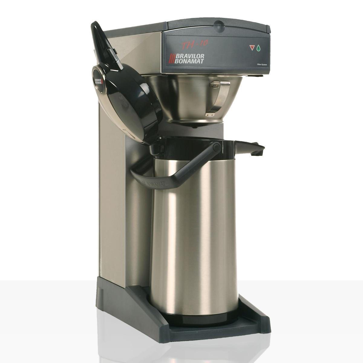 Bonamat TH10 Kaffeemaschine inkl. 2 Kannen mit Glaseinsatz (altes Design)
