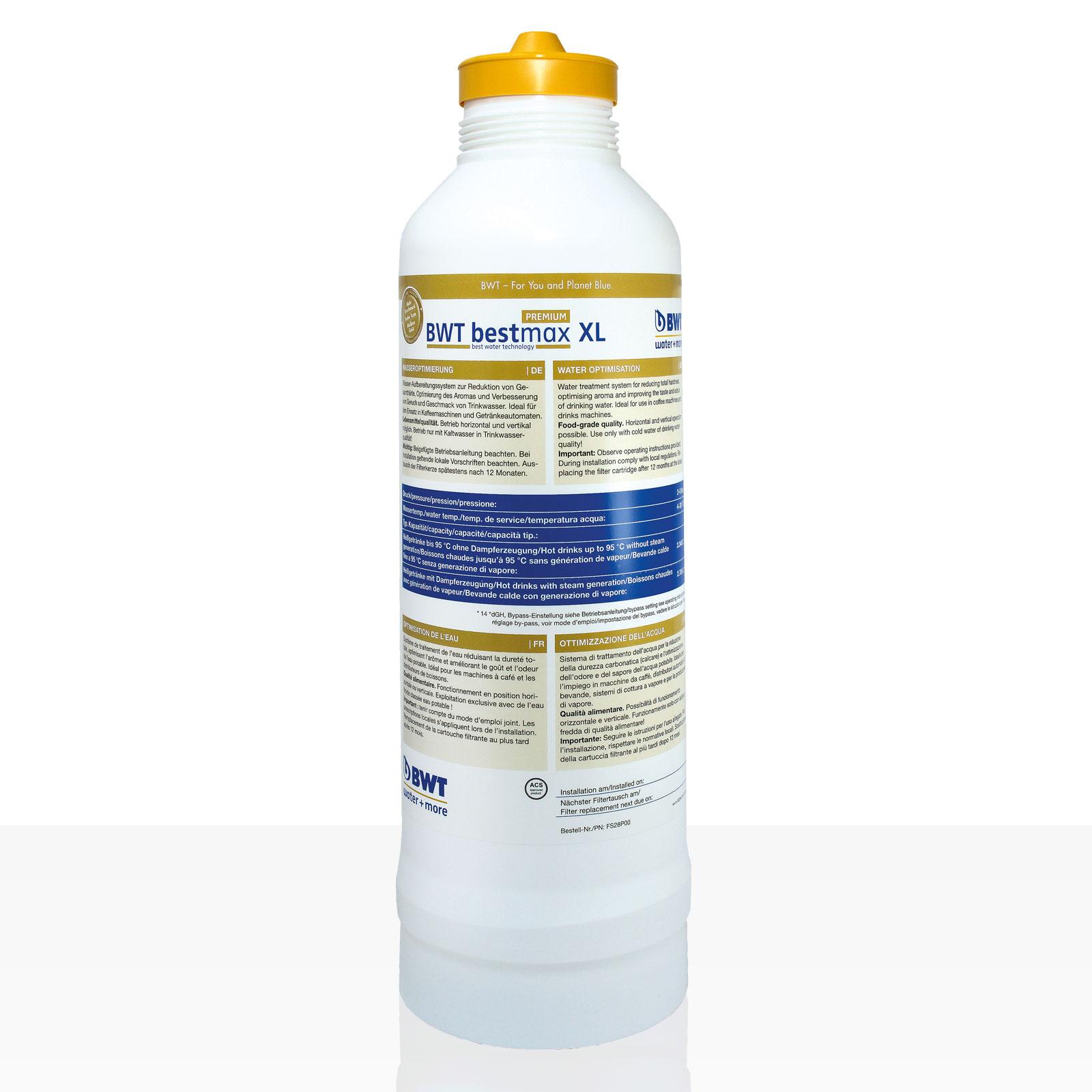 Bestmax XL Premium Filterkerze, BWT water + more Wasserfilter, ca. 4300 L