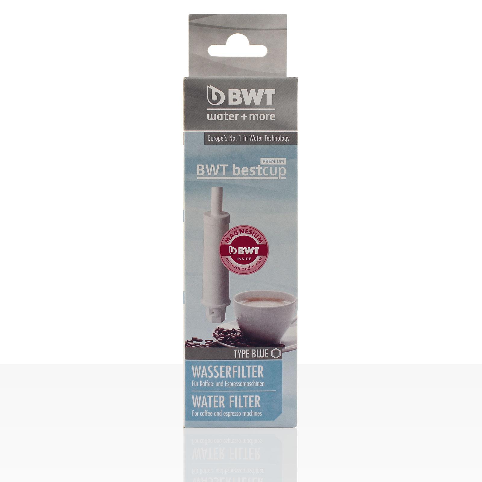BWT bestcup Premium BLUE Wasser-Filter für den Wassertank