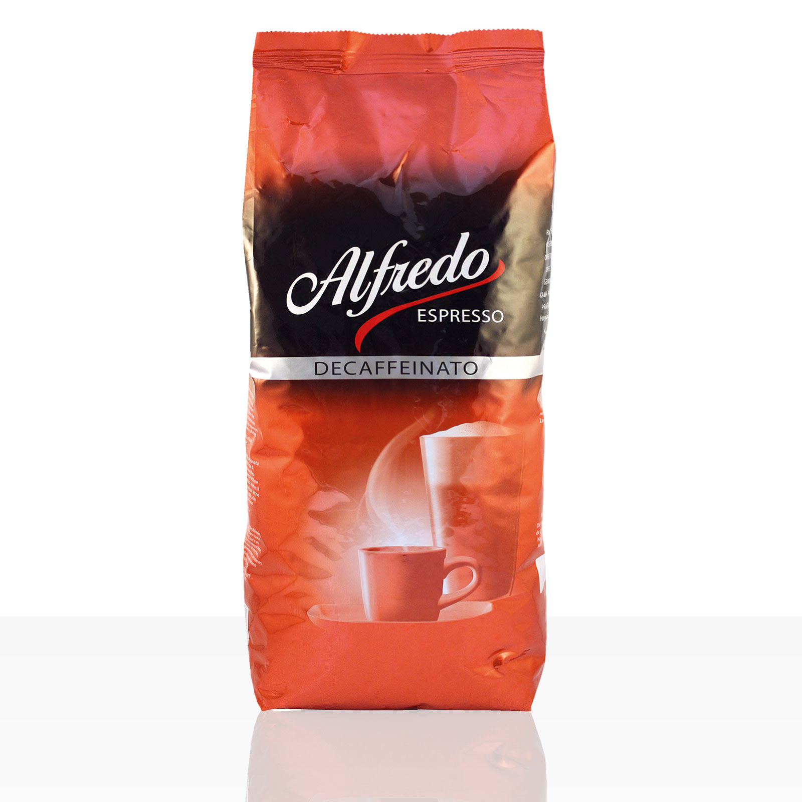Darboven Alfredo Espresso Decaffeinato - 1kg Kaffee-Bohne entkoffeiniert, koffeinfrei