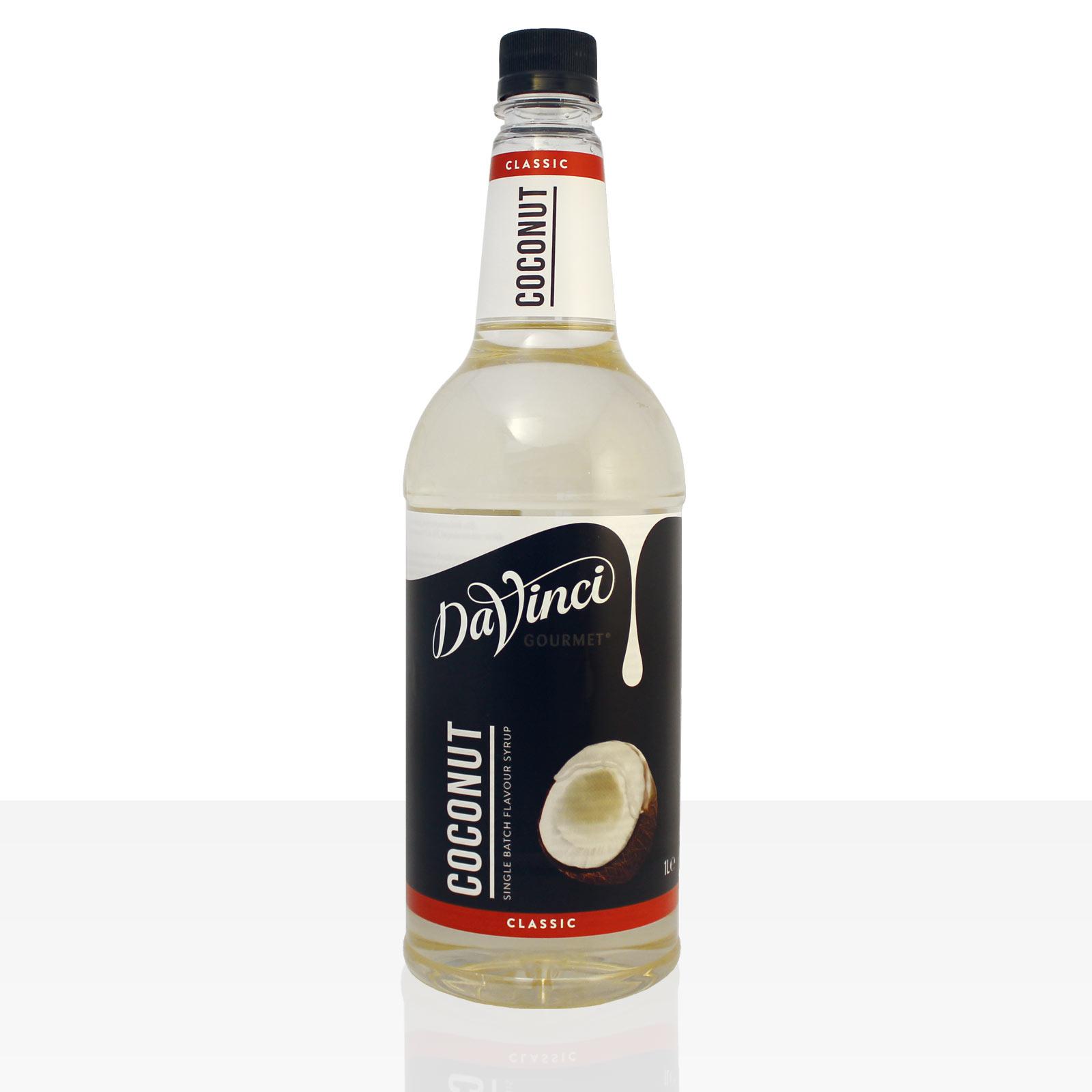 Da Vinci Gourmet Flavour Sirup Coconut 1000ml Kokos Kaffeesirup