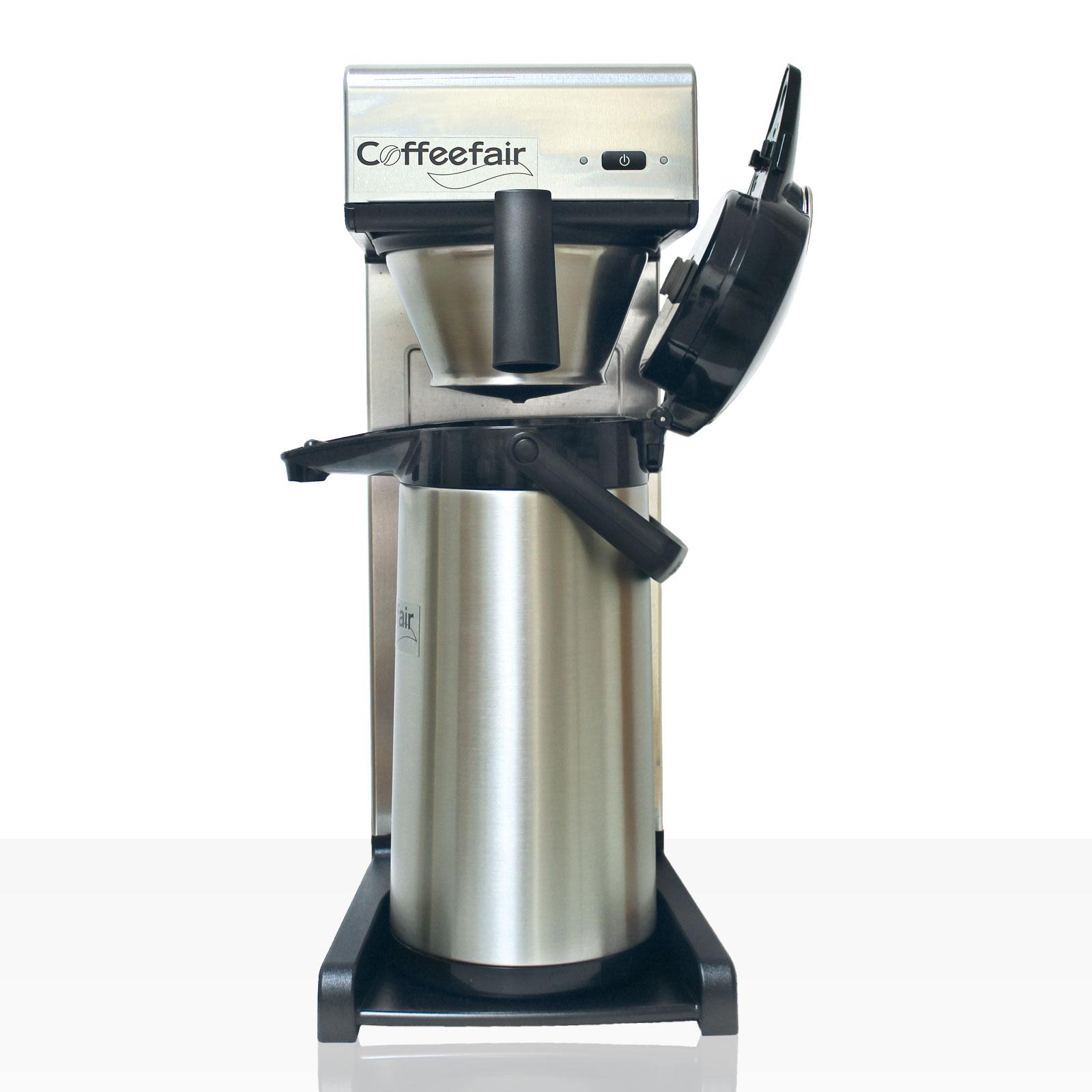 Bonamat TH Kaffeemaschine Coffeefair inkl. Pumpkanne mit Edelstahleinsatz 2,2l