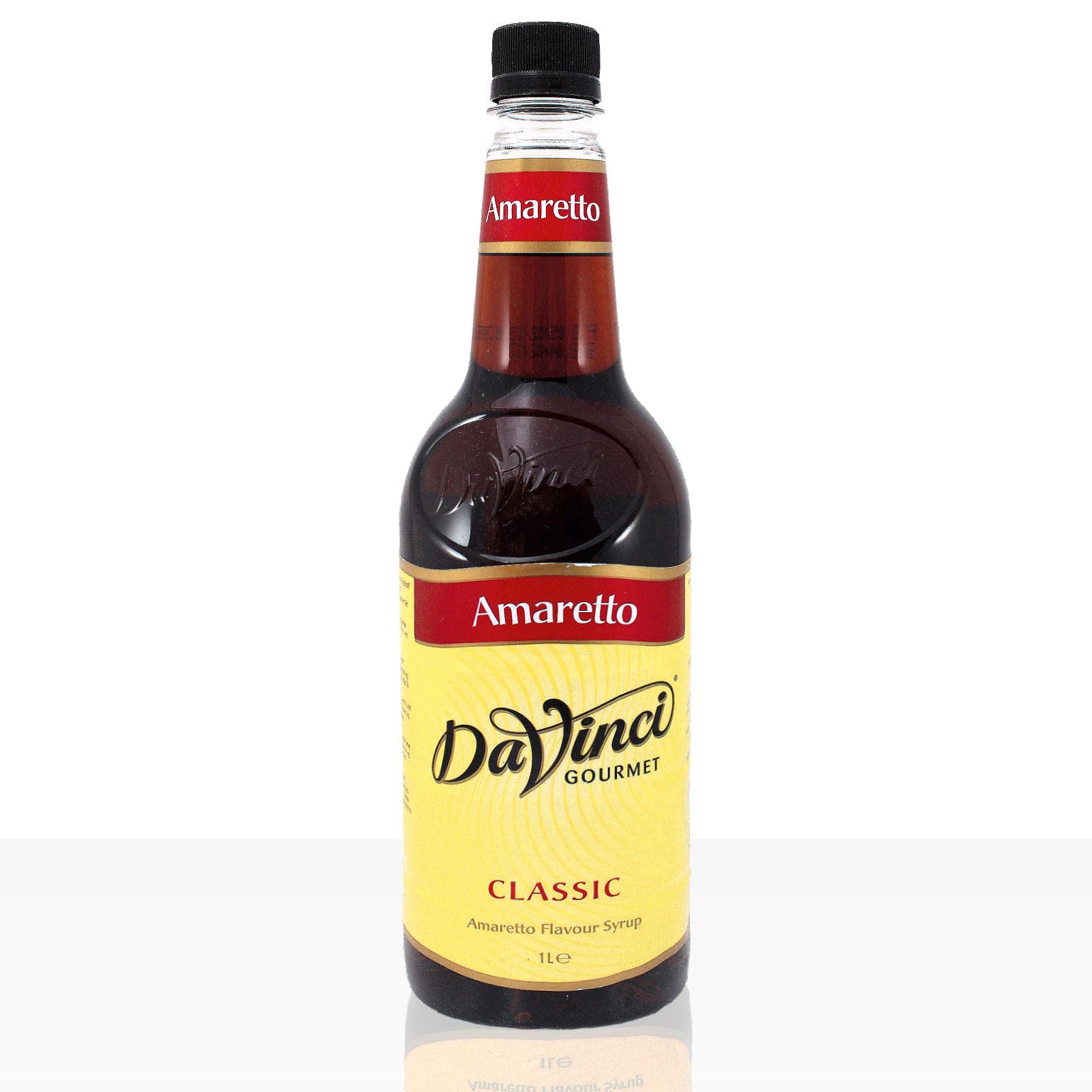 Da Vinci Gourmet Flavour Sirup Amaretto 1000ml Kaffeesirup