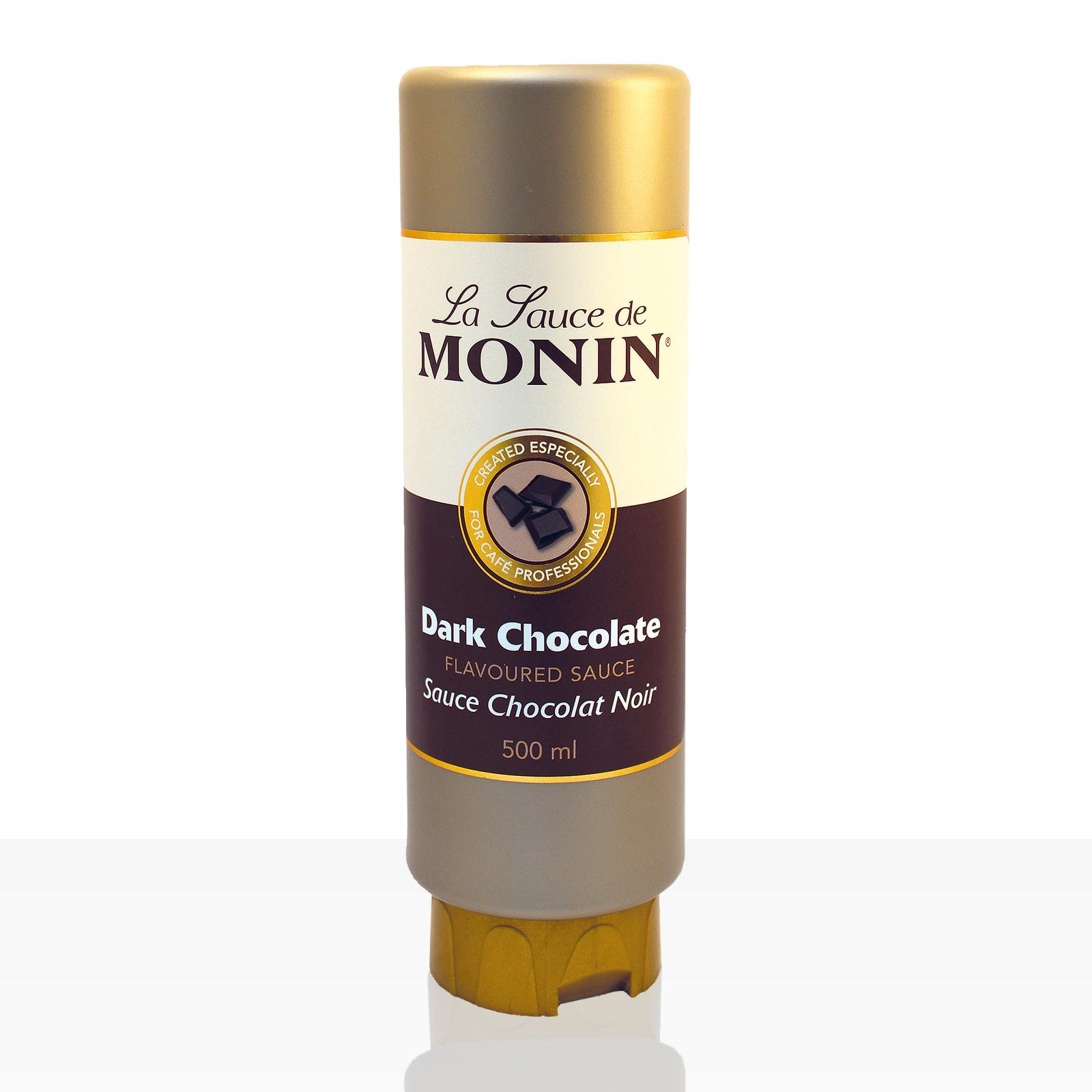 Monin Sauce Dunkle Schokolade 0,5 l, Schoko-Soße
