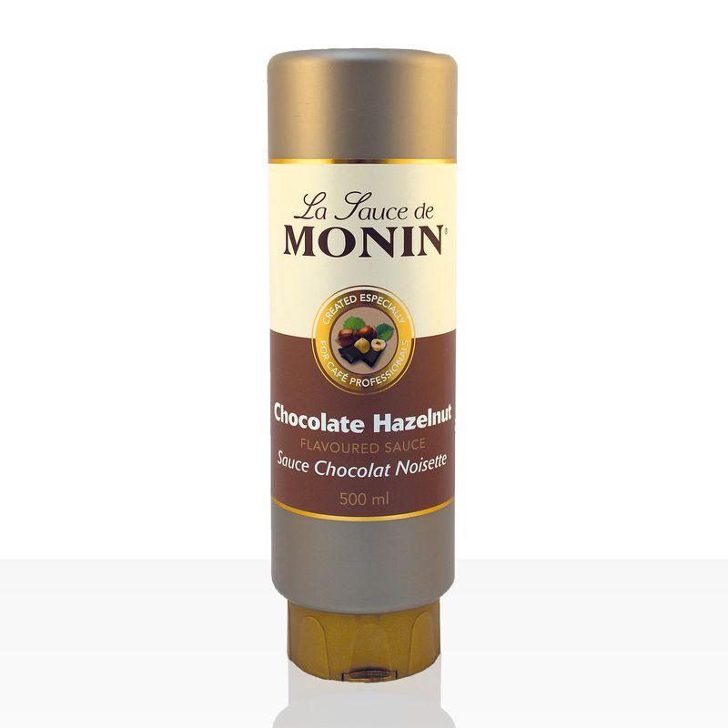 Monin Sauce Schokolade-Haselnuss 0,5 l, Schoko-Soße