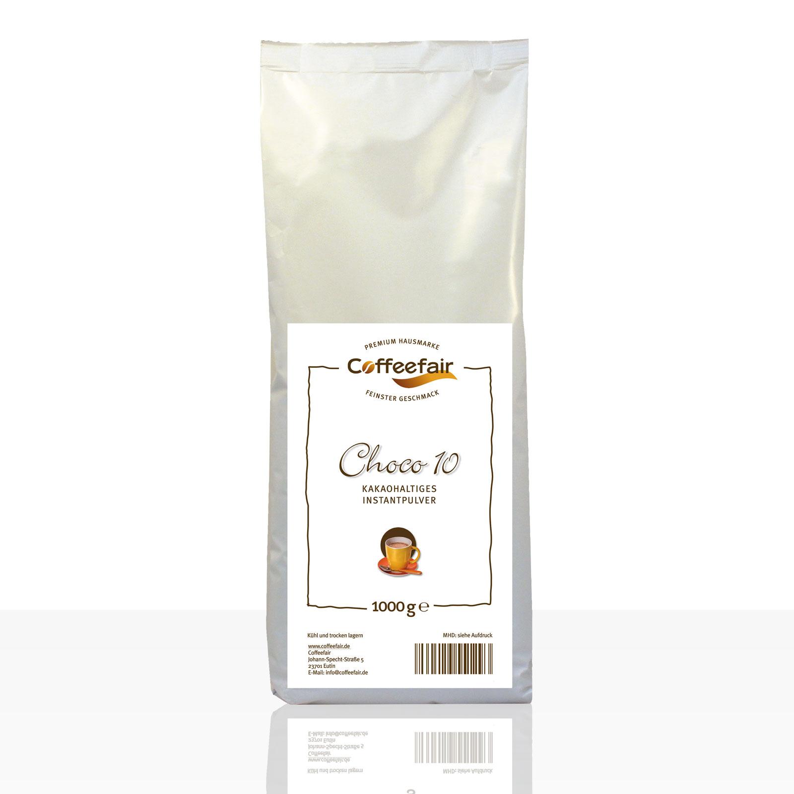 Coffeefair Choco 10 Kakao 1kg, Kakaopulver 10%