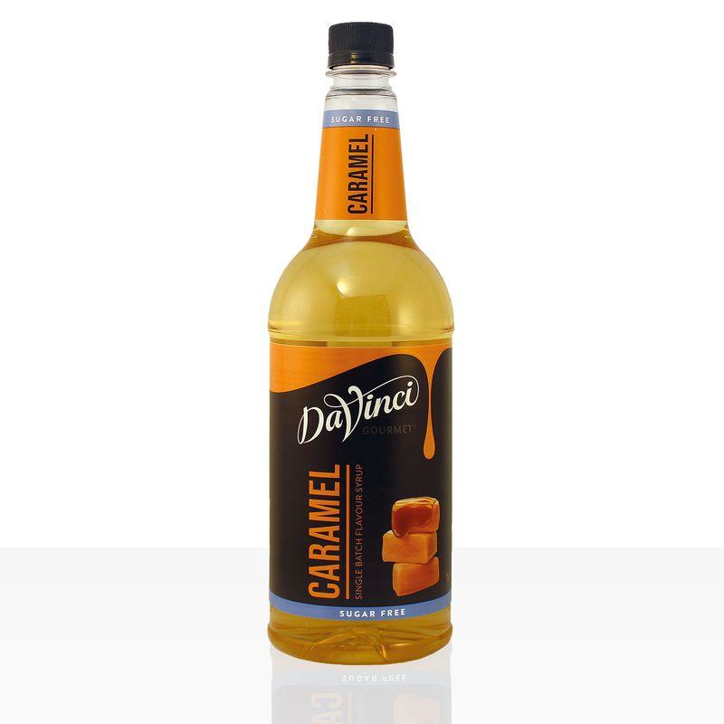 Da Vinci Gourmet Sirup Sugar Free Caramel 6 x 1000ml