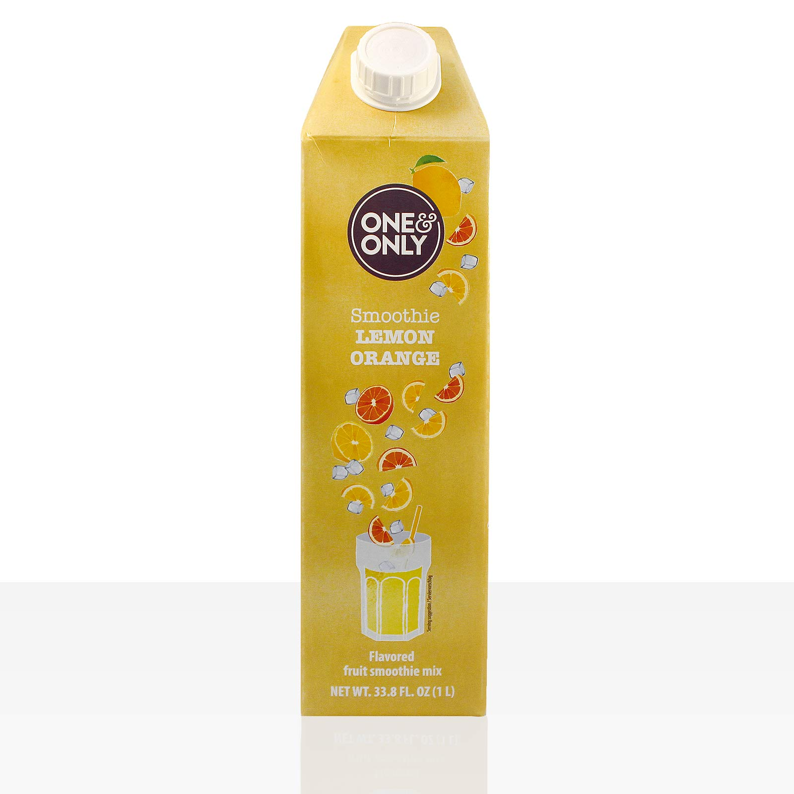 One & Only Smoothie Orange Lemon 6 x 1l