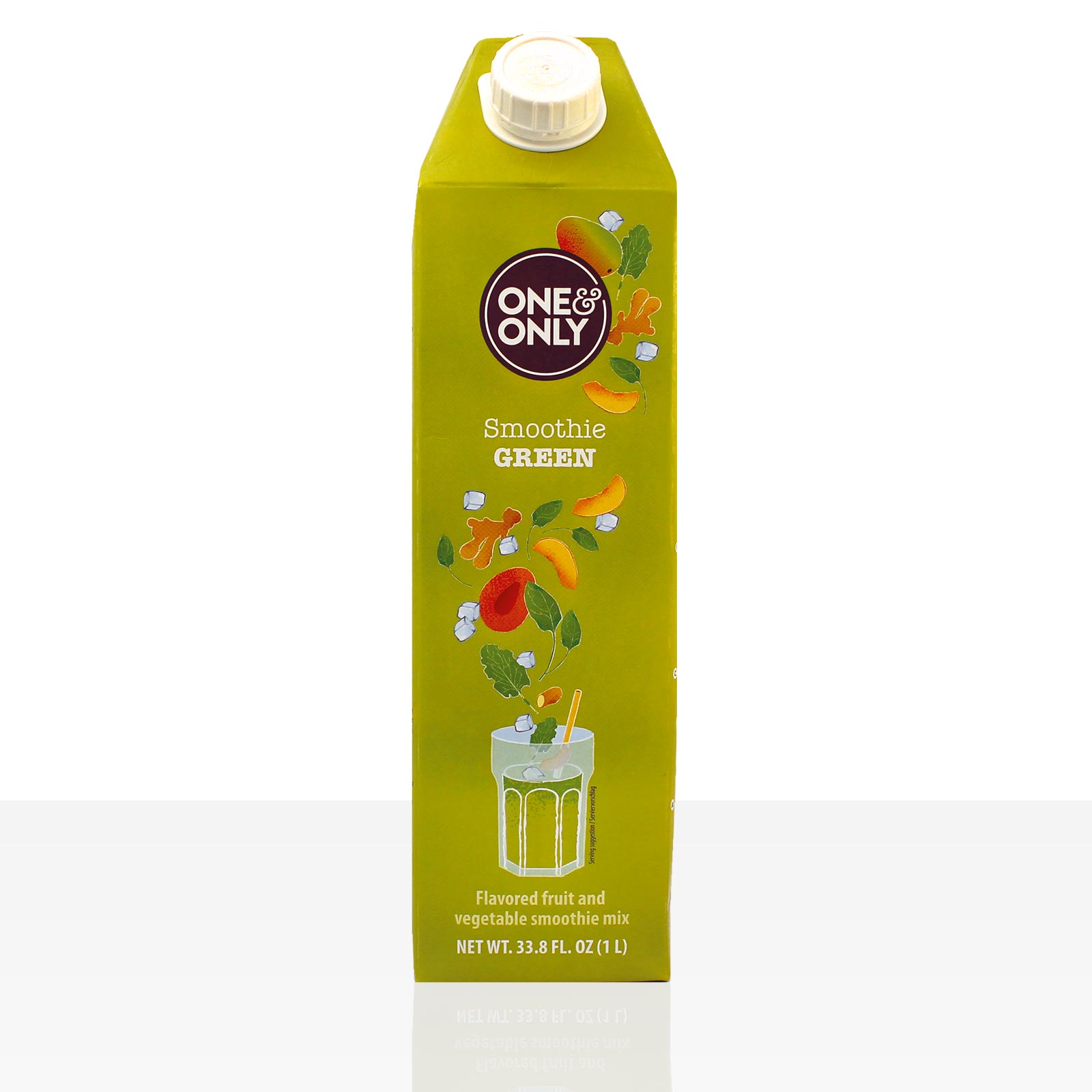 One & Only Smoothie Green 1l