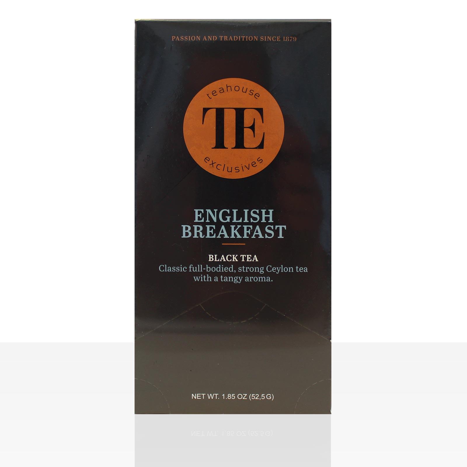 TE Luxury Teahouse Exclusive English Breakfast 15 x 3,5g Tee