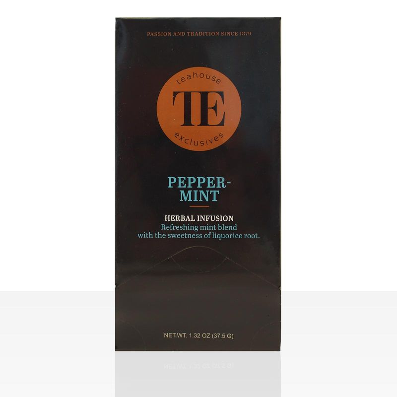 TE Luxury Teahouse Exclusive Peppermint Pfefferminze 15 x 2,5g Tee