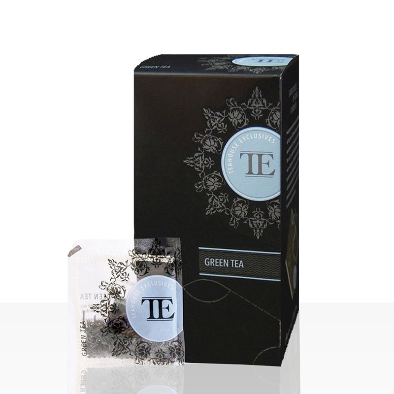 TE - Luxury Teahouse Exclusives Green Tea 15 x 3,5g Grüner Tee