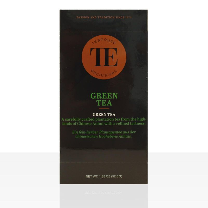 TE Luxury Teahouse Exclusives Green Tea 15 x 3,5g Grüner Tee