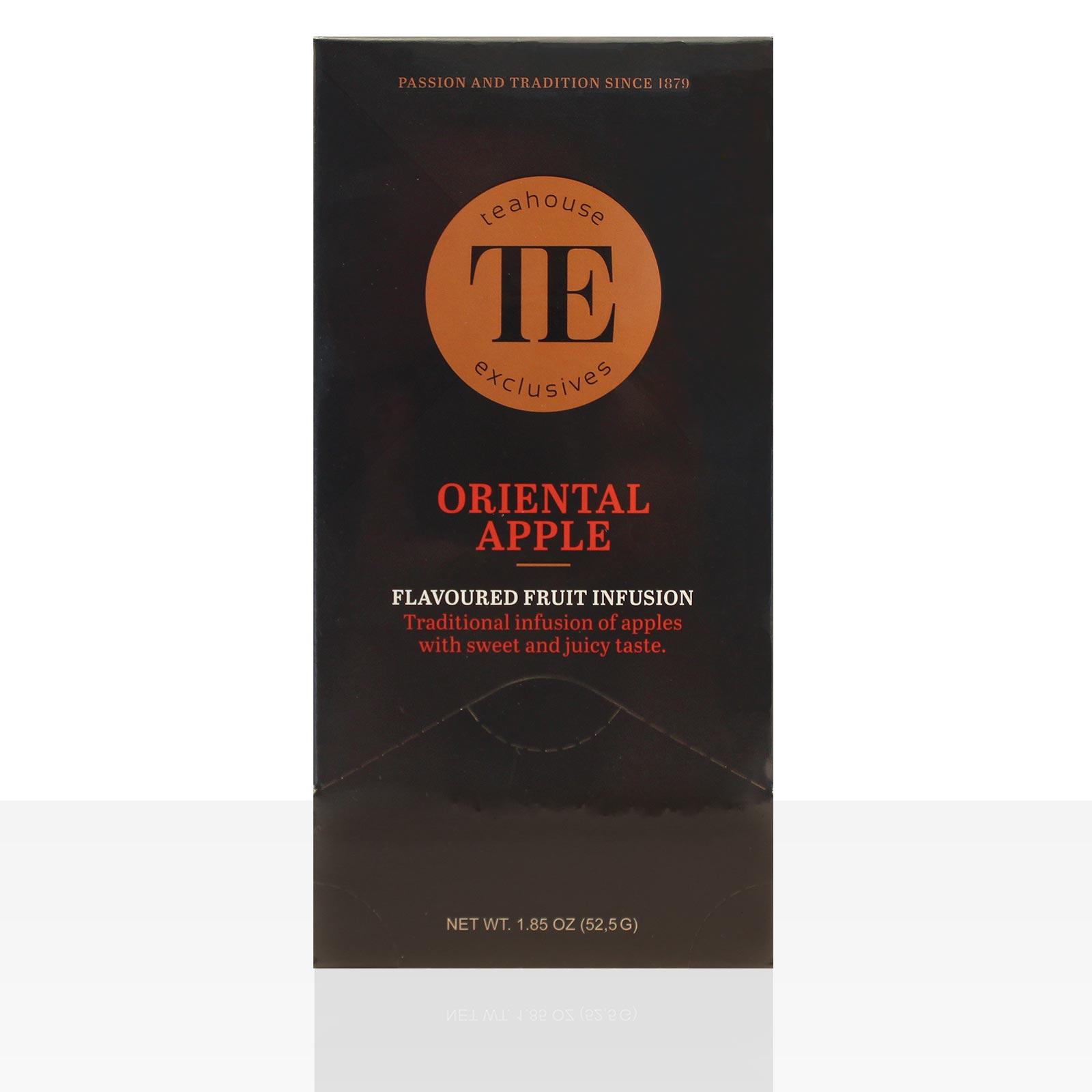 TE Luxury Teahouse Exclusives Oriental Apple 15 x 3,5g Tee Apfel