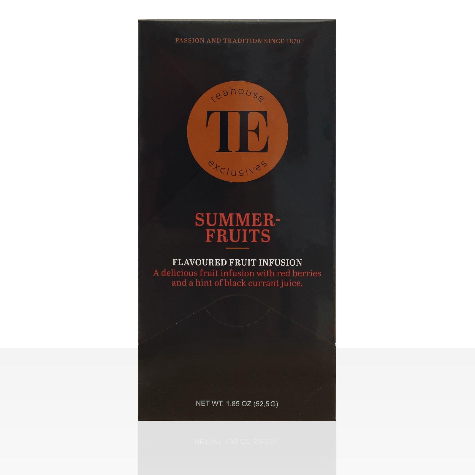 TE Luxury Teahouse Exclusives Summerfruits 15 x 3,5g Früchte-Tee