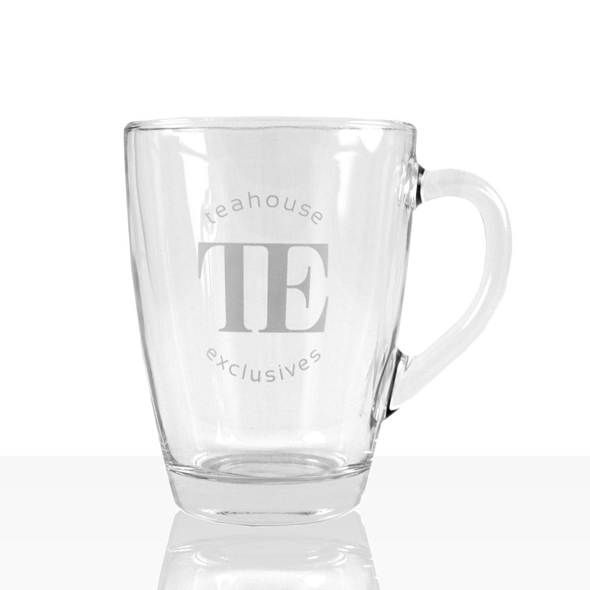 TE Luxury Tea Mug Tee Glas Classic Design Becher 310ml, 6Stk