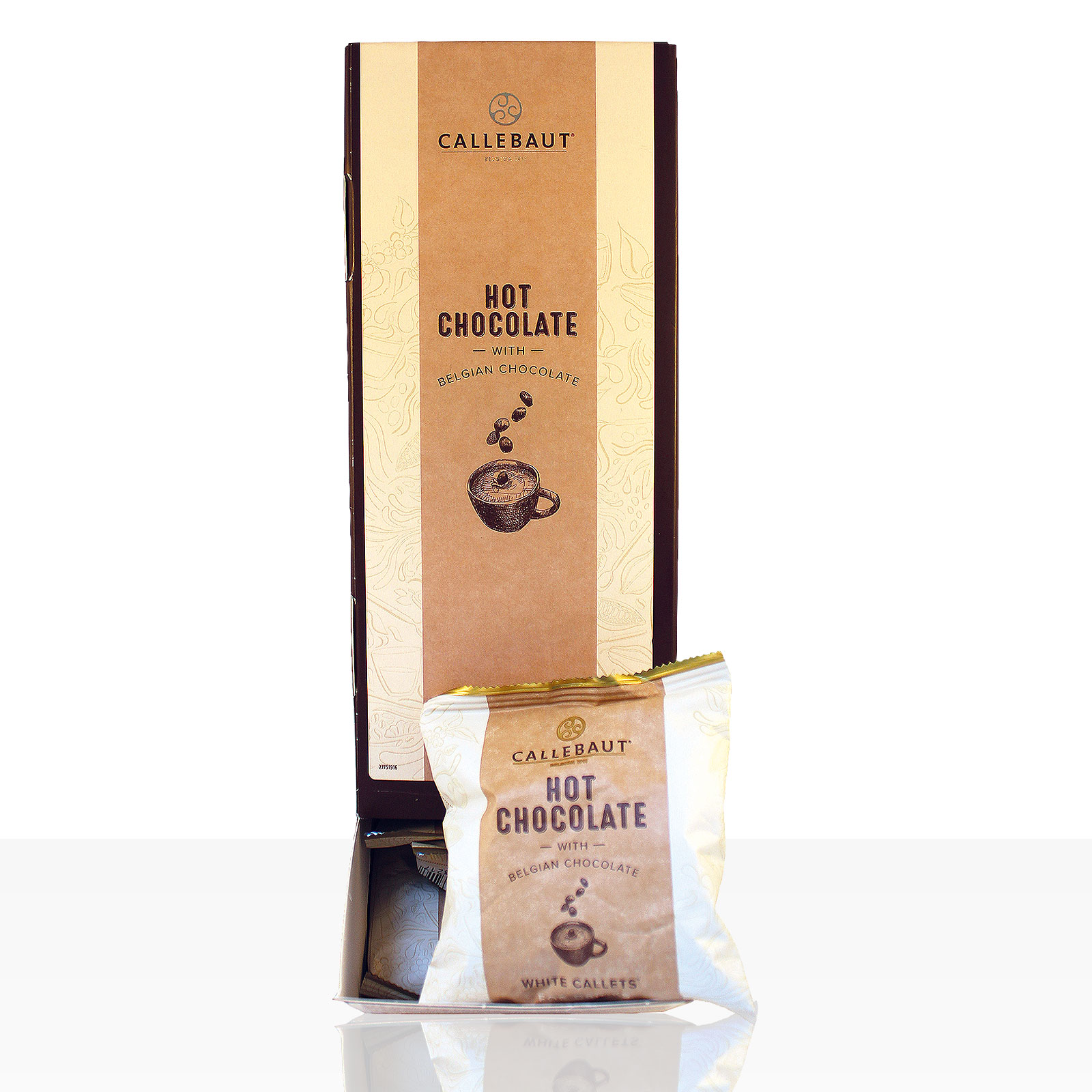 Callebaut Hot Chocolate Callets White 25 x 35g
